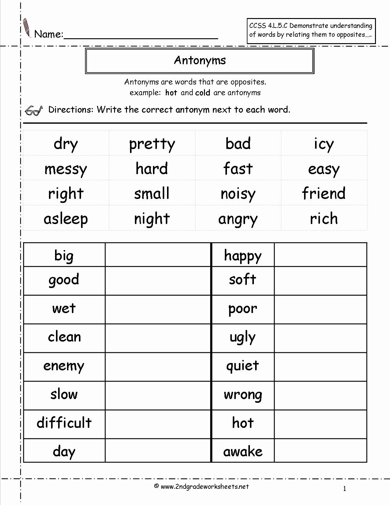 Grammar Worksheets for 2nd Grade 2nd Grade Grammar Worksheets Pdf New Free Language Grammar