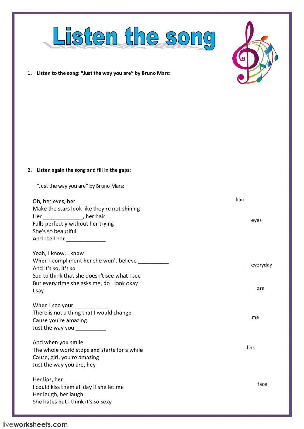 Homophone Worksheets 5th Grade Listening Prehension English as A Second Language Esl