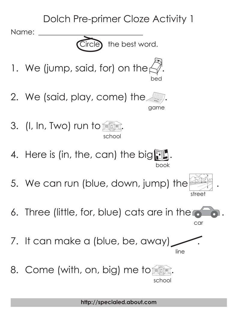 Homophones Worksheet 6th Grade 5 Sets Of Worksheets for Dolch High Frequency Words