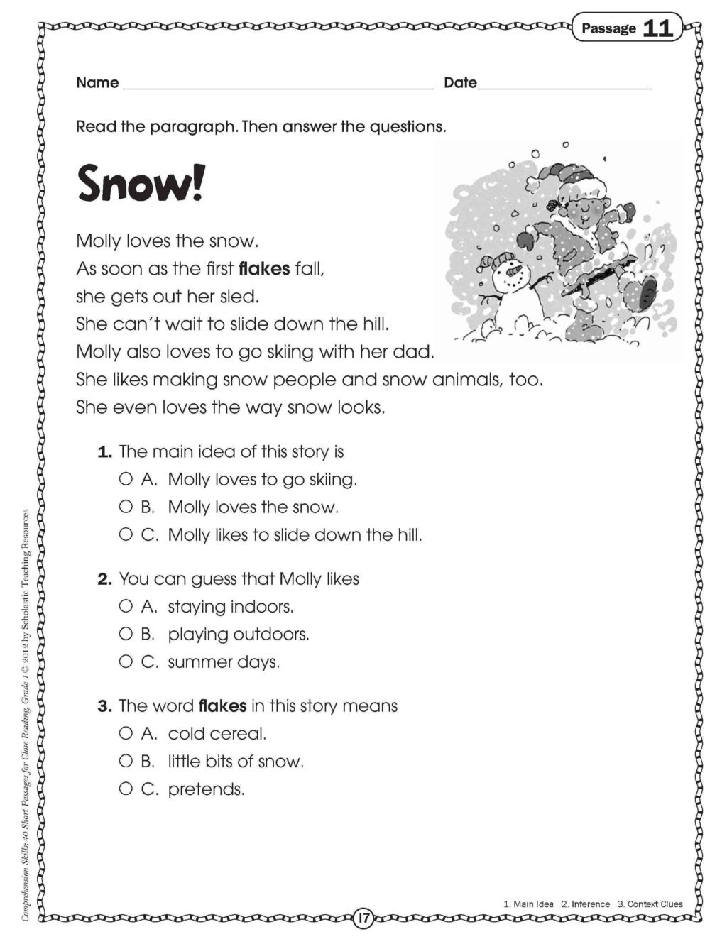Inference Worksheets for 4th Grade Worksheet Fabulousn Worksheets Grade Fun Printable and