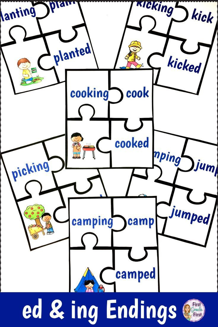 Inflected Endings Worksheets 2nd Grade Inflectional Endings Ed and Ing Activities