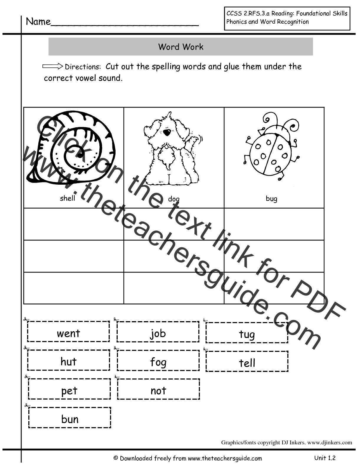 Inflectional Endings Worksheets 2nd Grade Wonders Second Grade Unit E Week Two Printouts