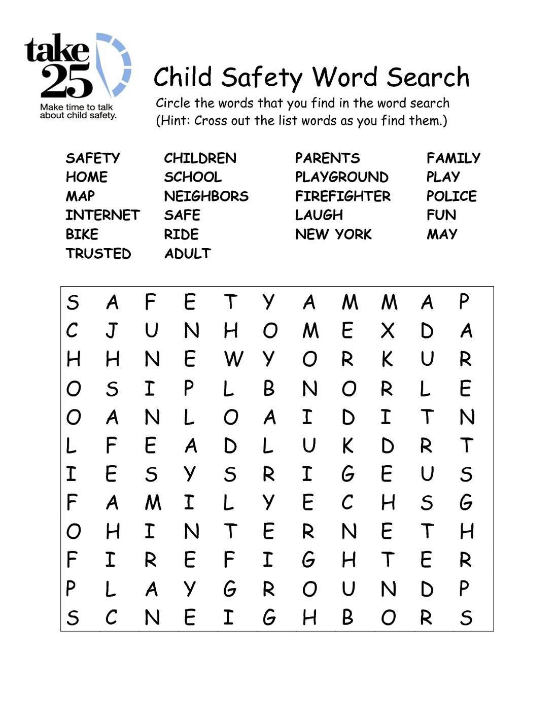 Internet Safety Worksheets Printable Internet Safety Worksheets for Kids