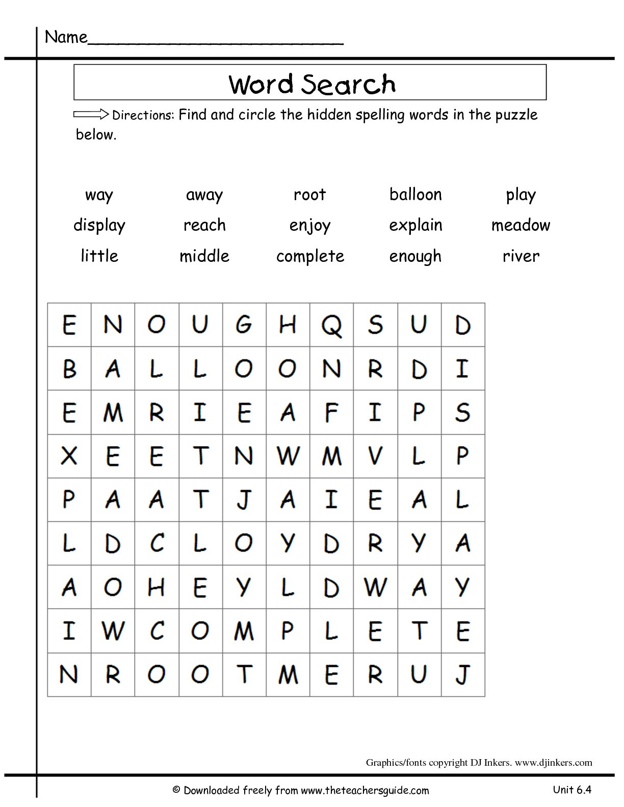 Irregularly Spelled Words 2nd Grade Wonders Second Grade Unit Six Week Four Printouts
