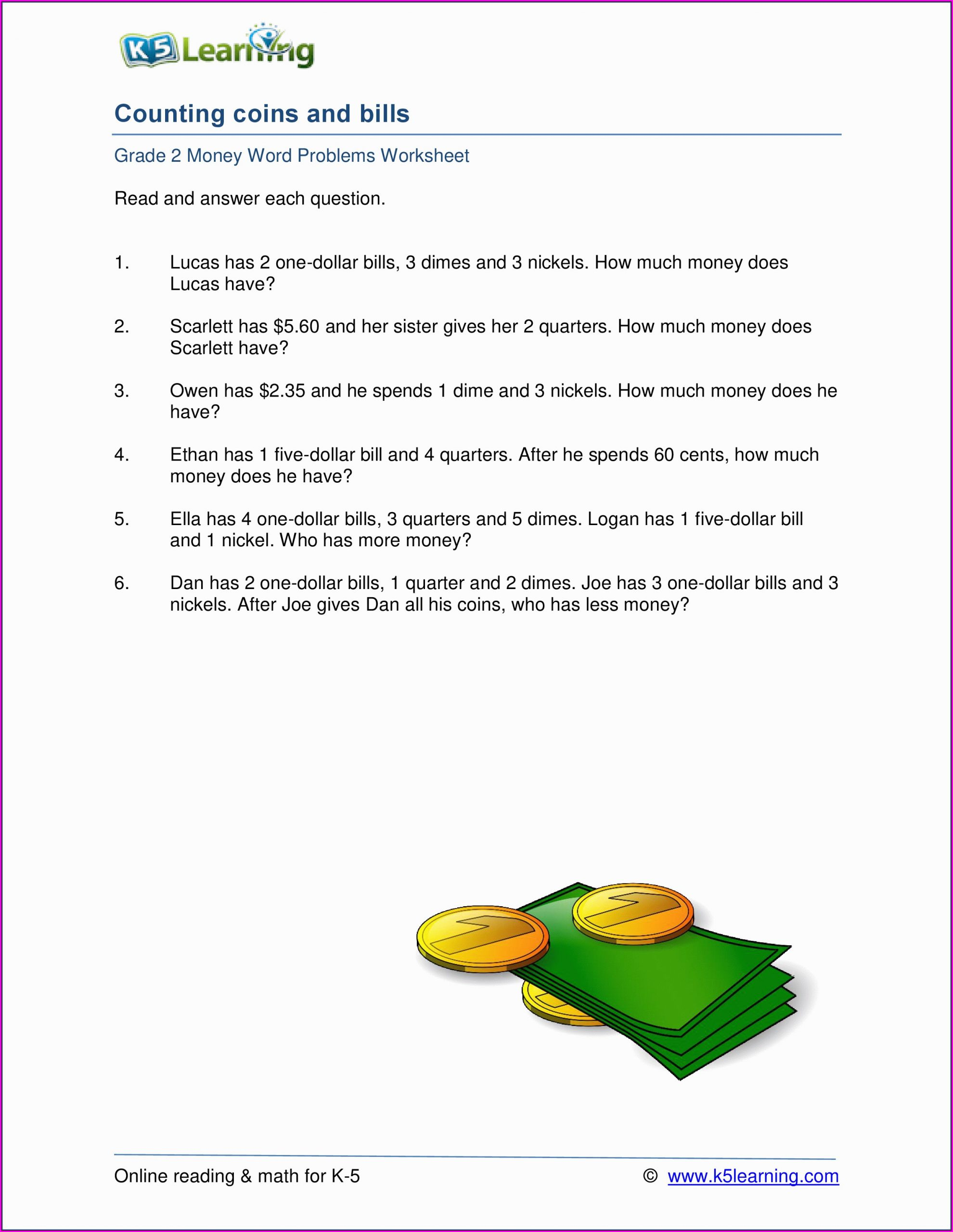 K5 Learning Math Grade 4 Math Worksheet Grade 4 Canada