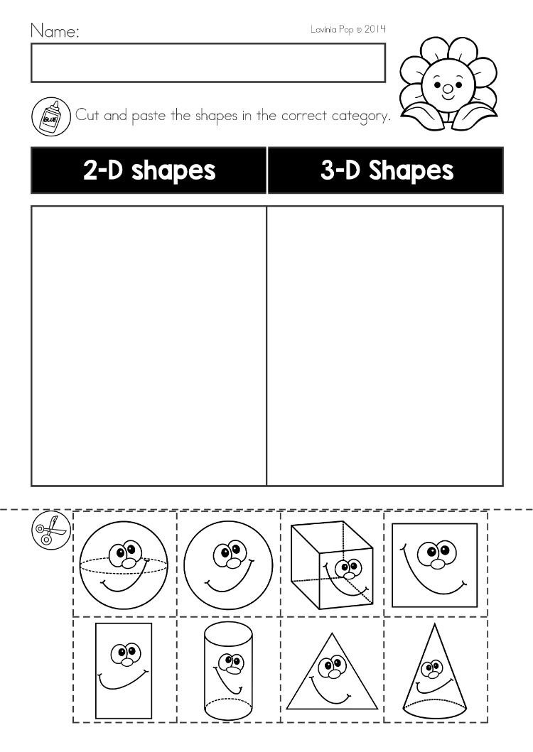 Kindergarten Math sorting Worksheets Spring Kindergarten Math and Literacy Worksheets