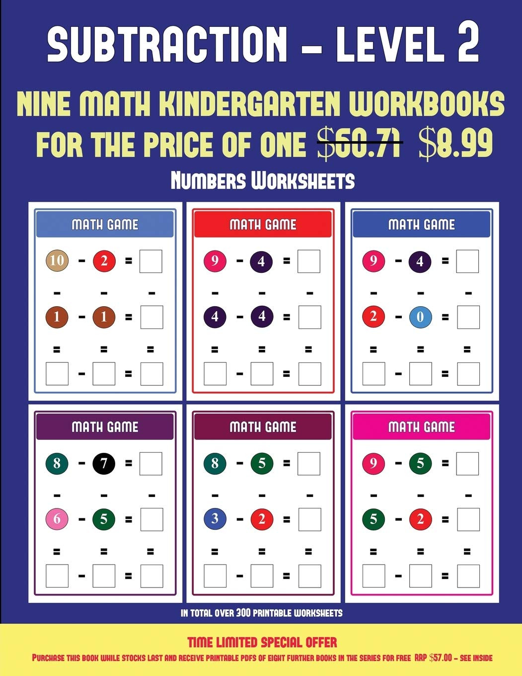 Kindergarten Subtraction Worksheets Free Printable Numbers Worksheets Kindergarten Subtraction Taking Away