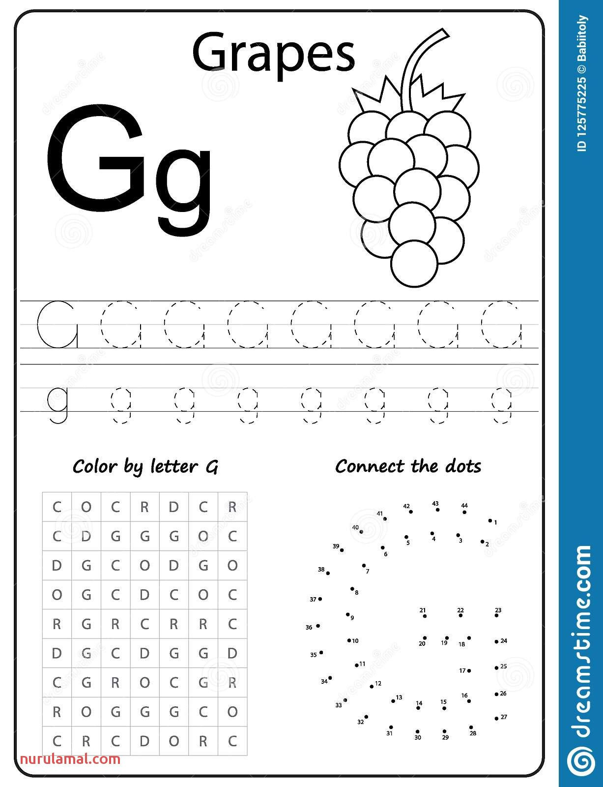 Letter G Worksheet Preschool Alphabet Worksheets Preschool Coloring Pages In 2020