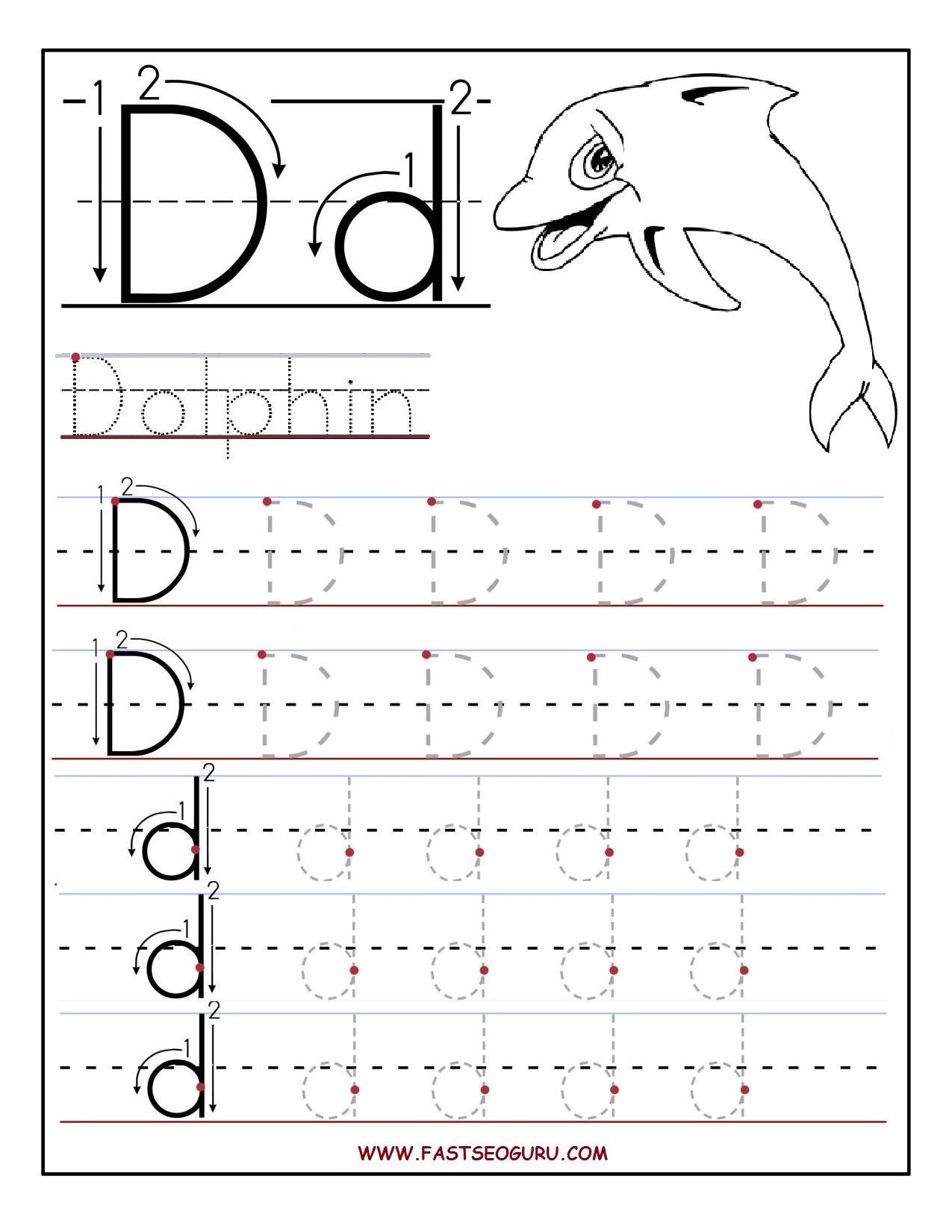 Letter K Tracing Worksheets Preschool Preschool Alphabet Worksheets Printables Printable Letter A