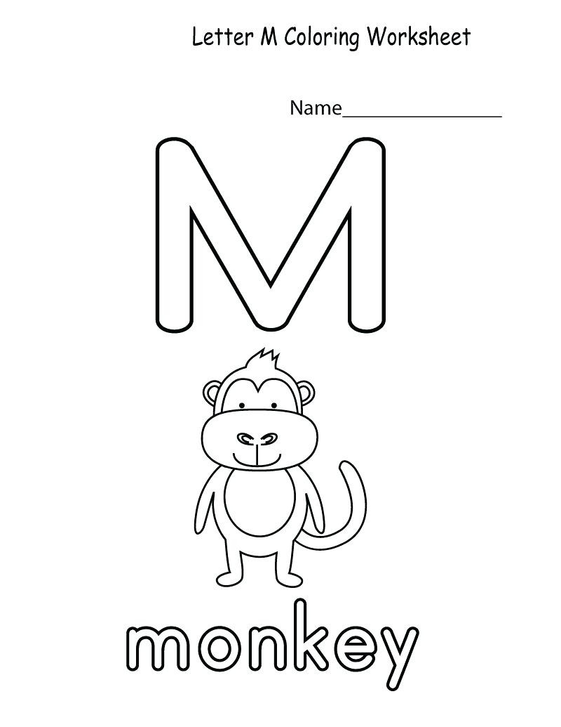 Letter M Worksheets Preschool Letter M Worksheets to Download Letter M Worksheets
