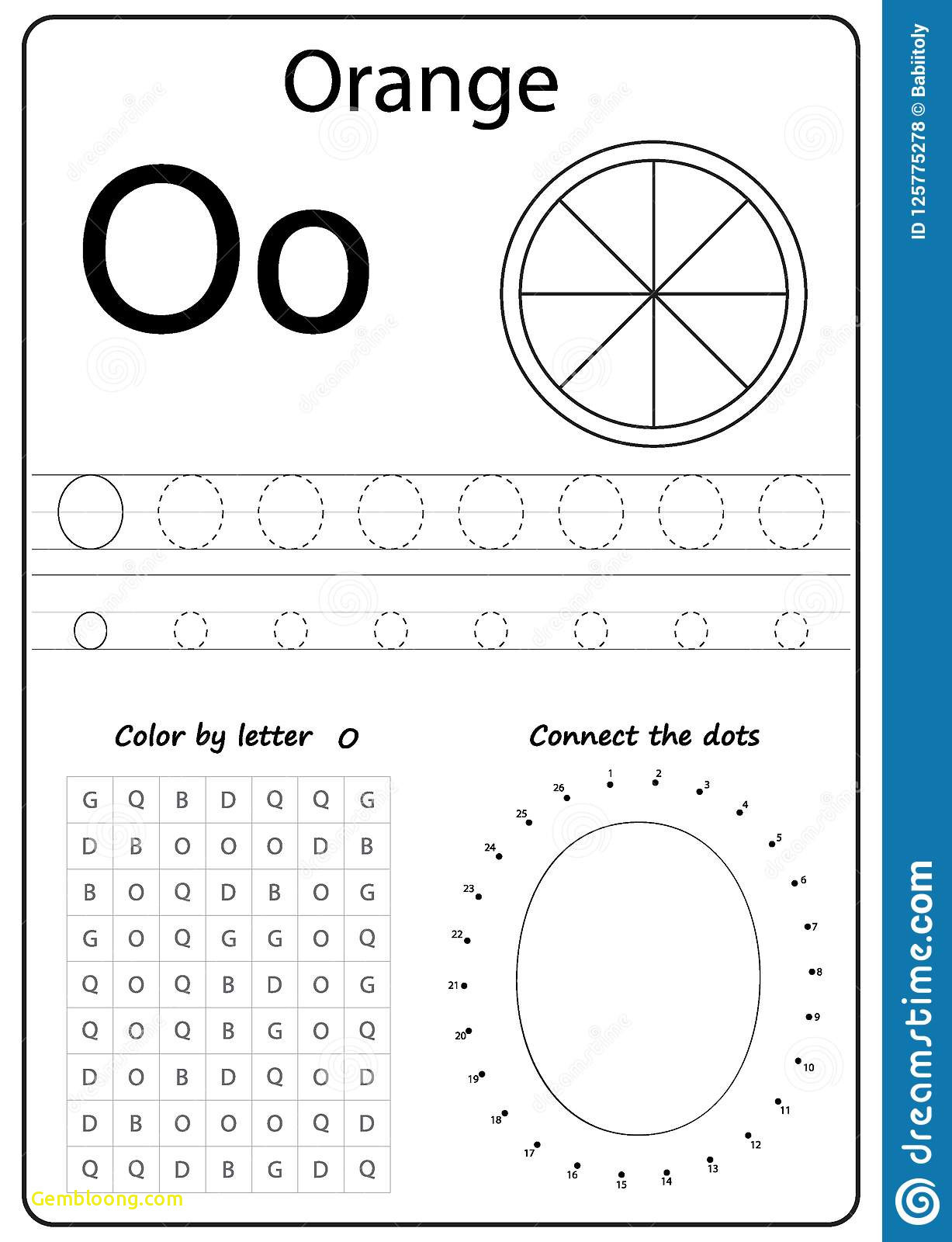 Letter O Worksheets for Preschool Letter B Coloring Book for Preschool Art Writing Letter O