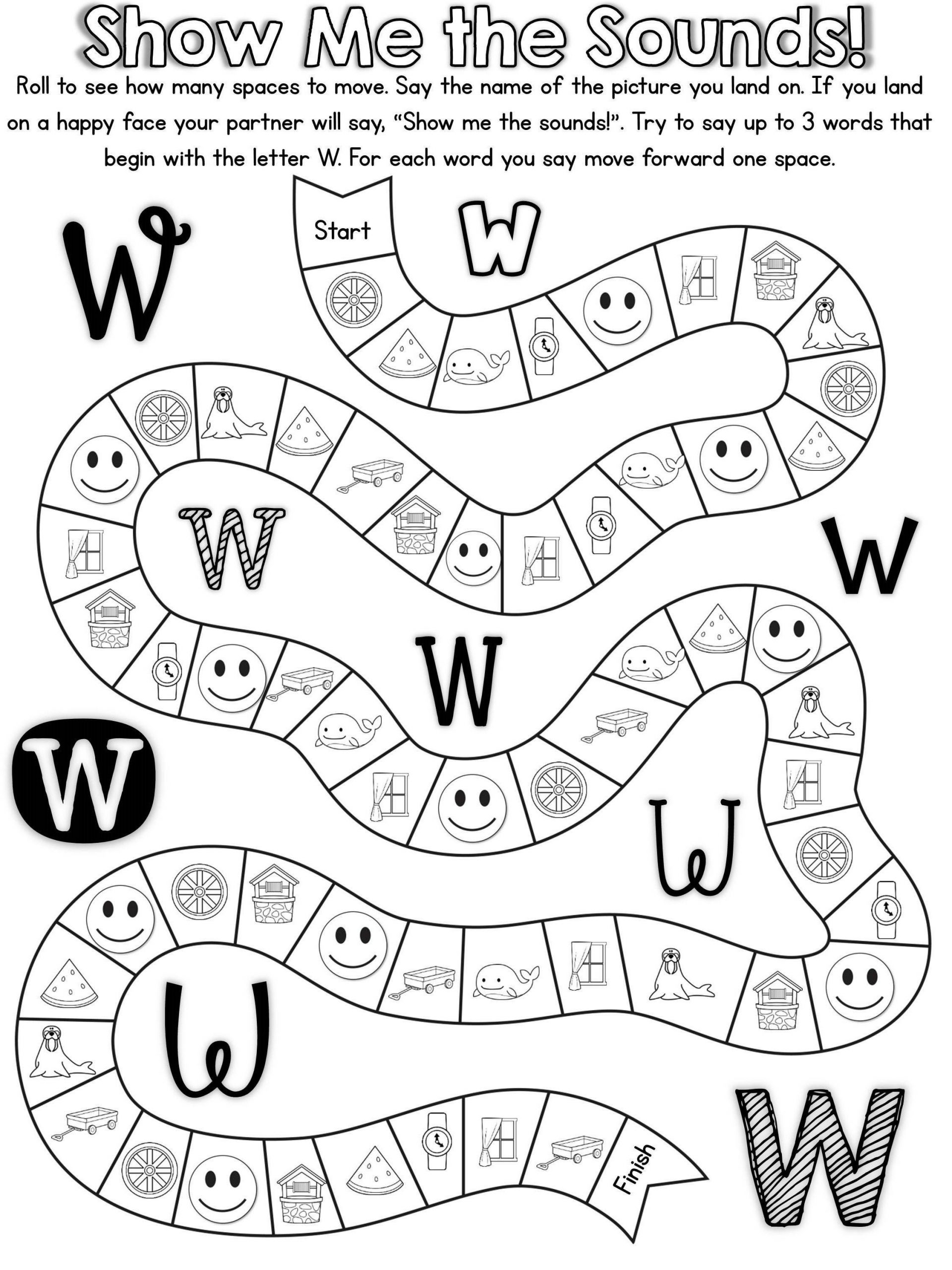 Letter W Worksheets for Preschoolers 20 Ready to Print No Prep Games to Practice the Letter W
