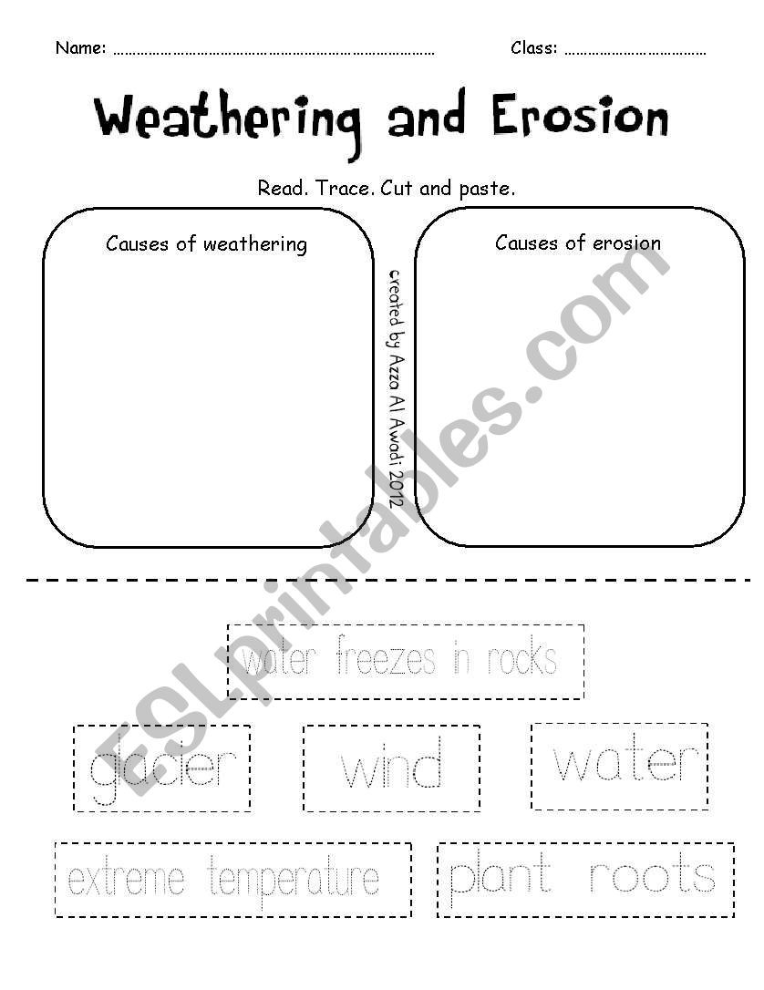 Line Graph Worksheets 5th Grade English Worksheets Weathering and Erosion Addition