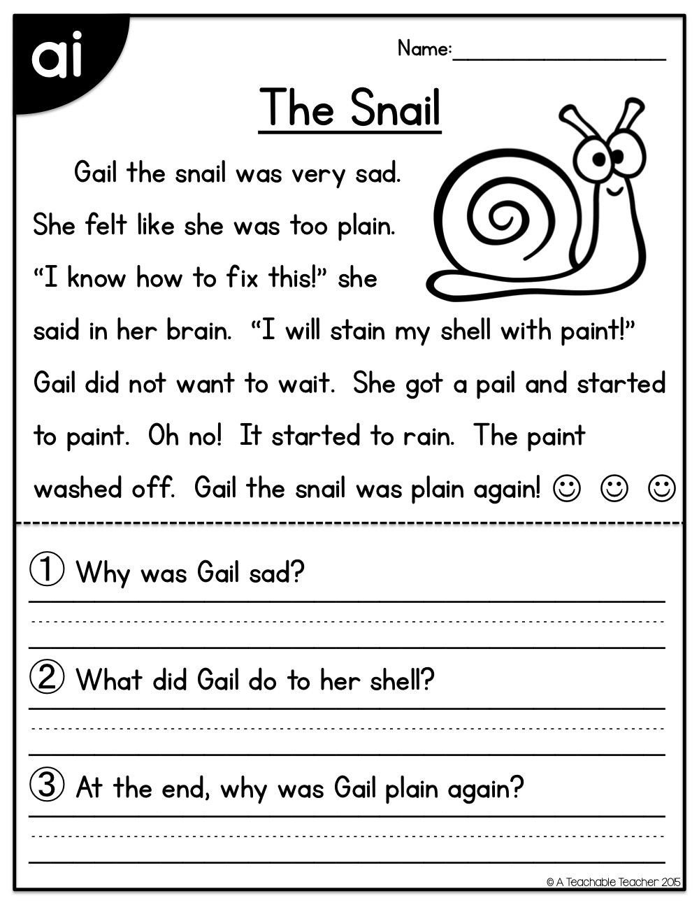 Long O Worksheets 2nd Grade Long Vowels Reading Passages Freebie