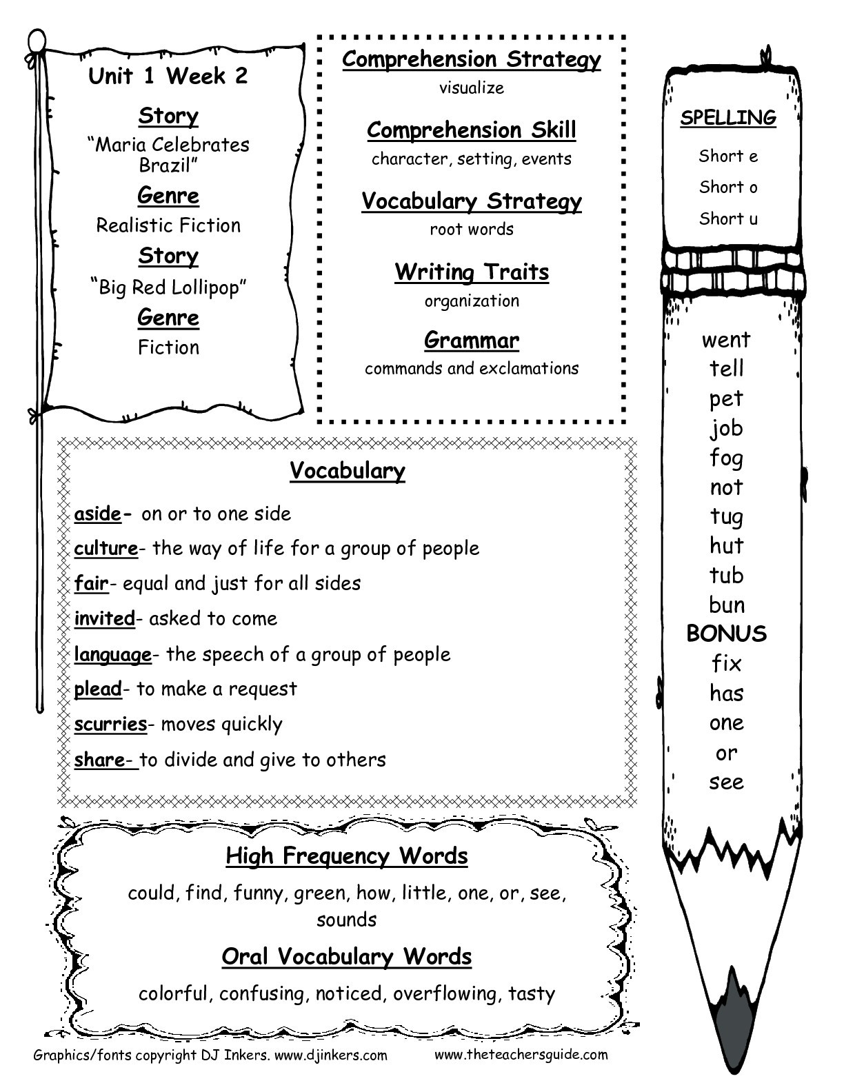 Long O Worksheets 2nd Grade Mcgraw Hill Wonders Second Grade Resources and Printouts