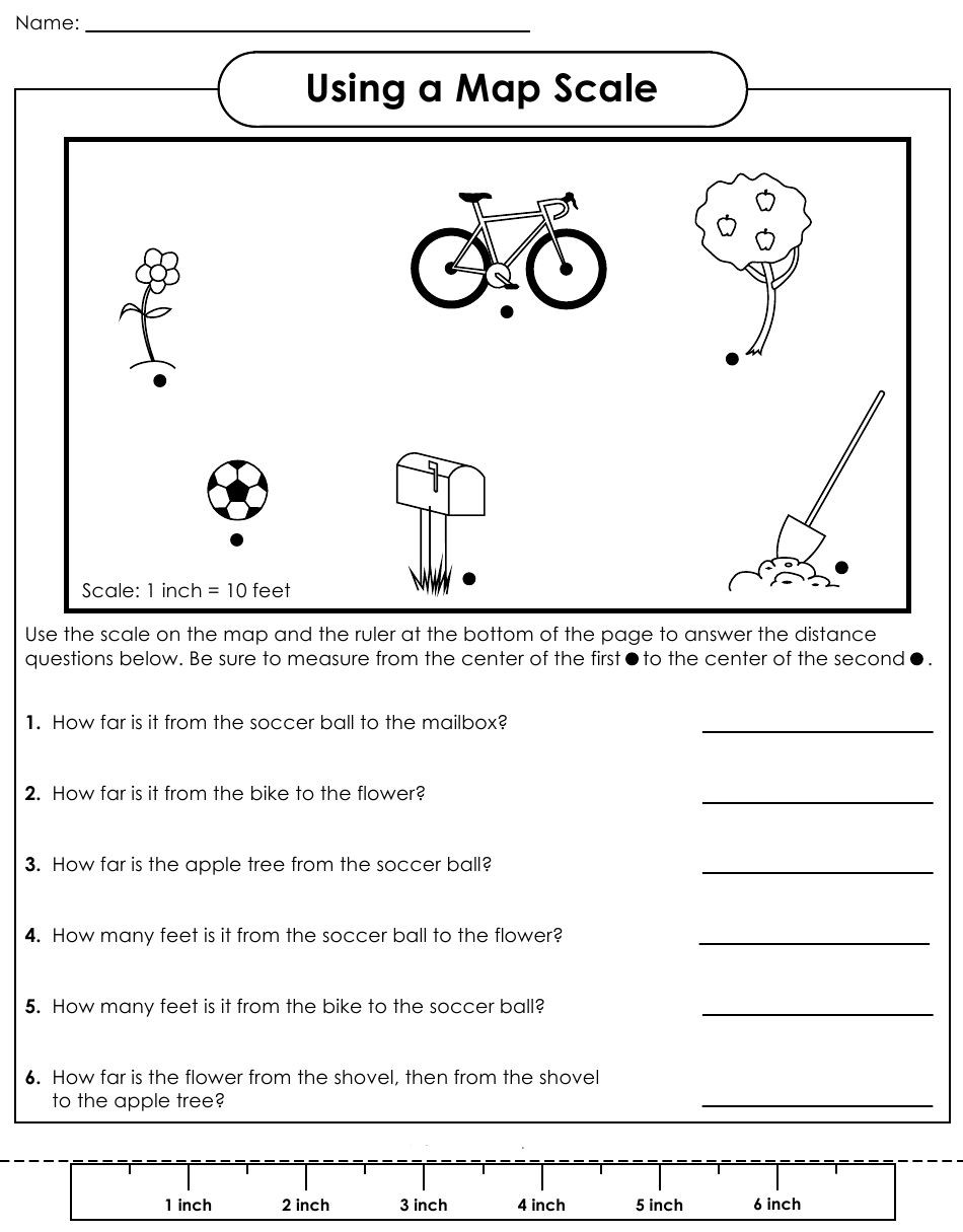 Map Scale Worksheet 3rd Grade Scale Factor Worksheet Google Search …