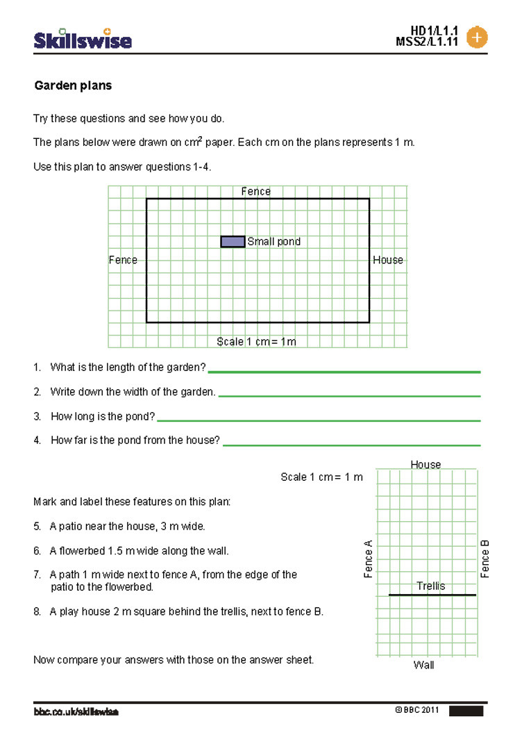 Map Scale Worksheet 3rd Grade Using Scale A Map Worksheet