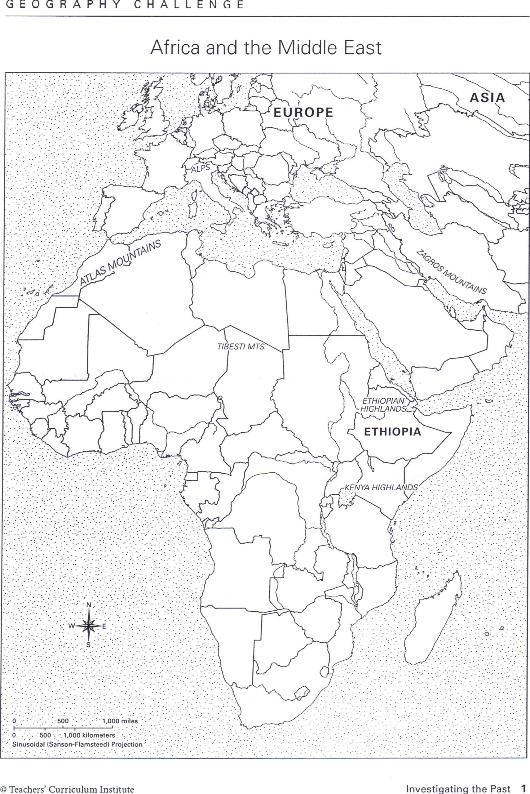 Map Worksheet 2nd Grade Bayes Map Worksheets for 2nd Grade Africa and the Middle