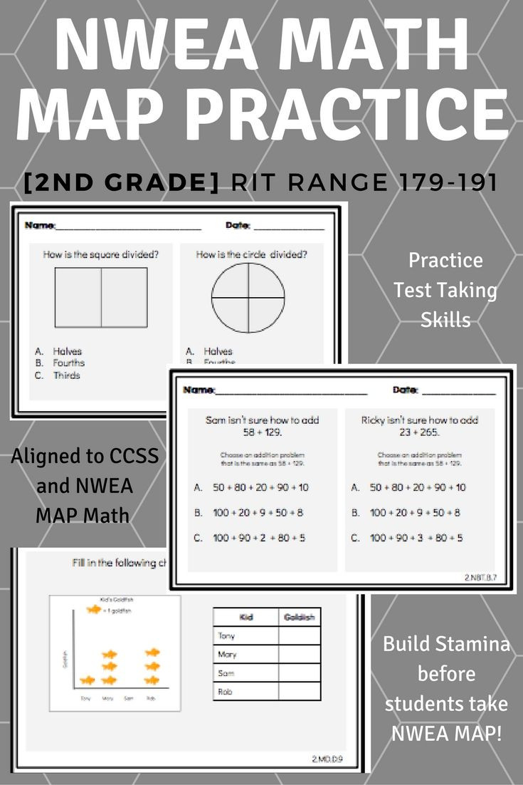 Map Worksheet 2nd Grade Worksheet 2ndrade Math Questions Excelent Nwea Map