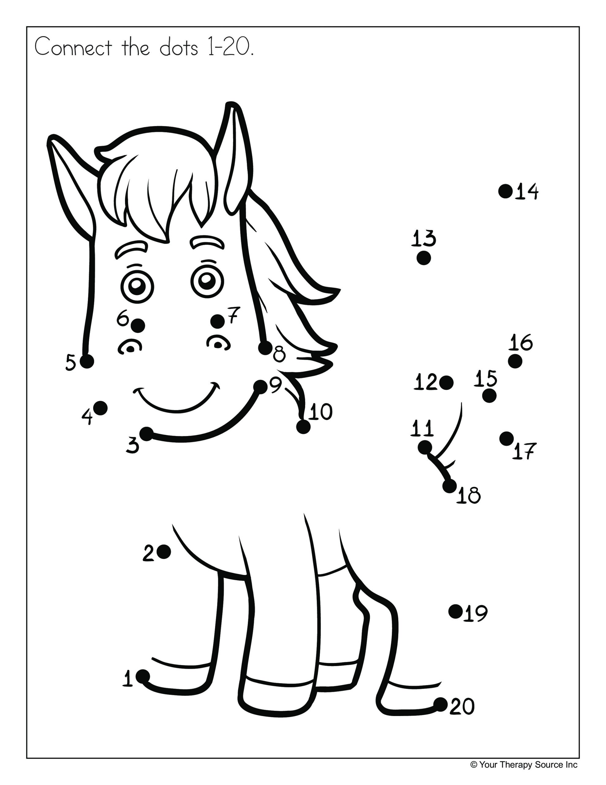 Math Dot to Dot Worksheets Dot to Dot Worksheet Grade 1