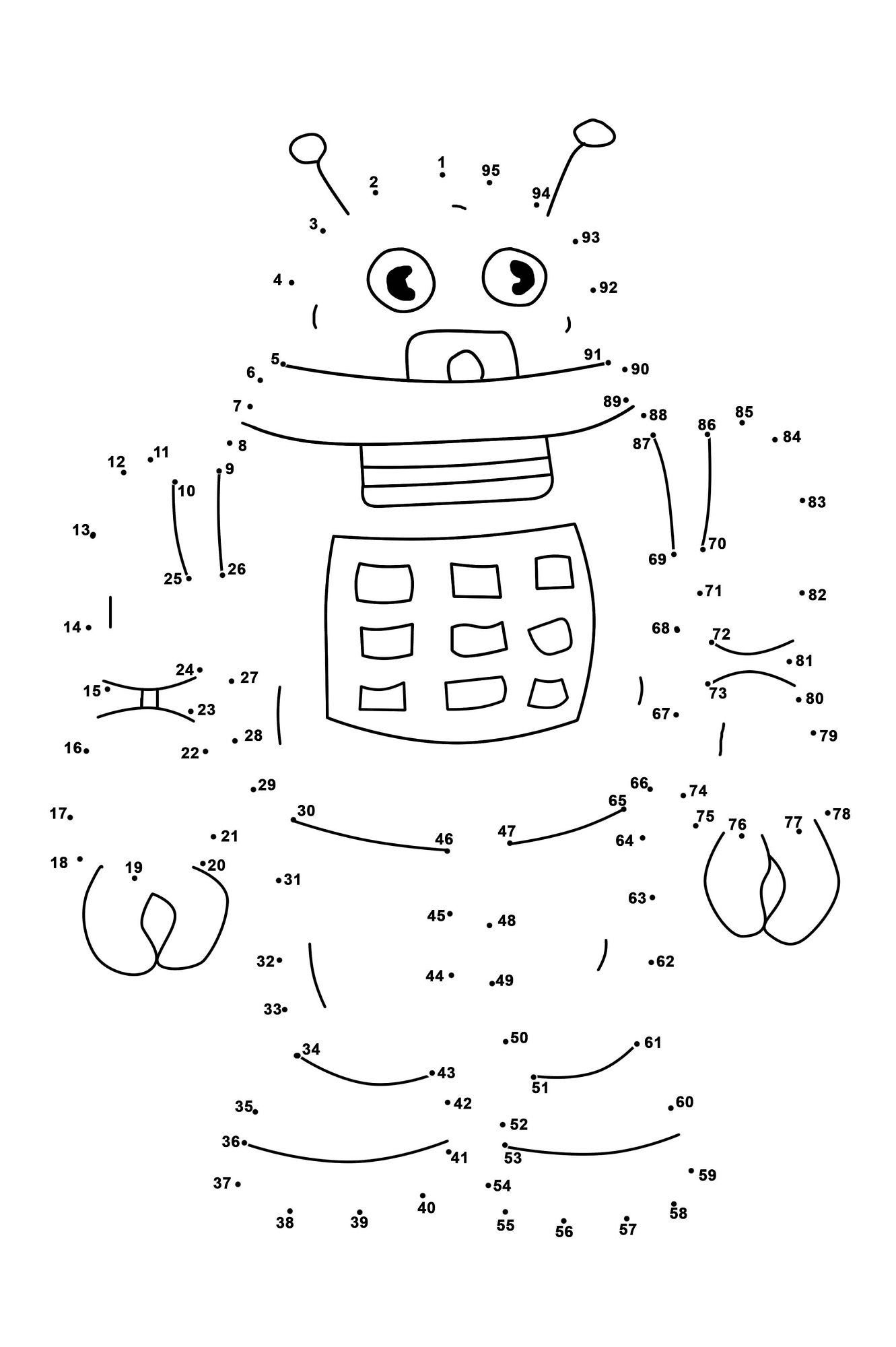 Math Dot to Dot Worksheets Dot to Dots Worksheets for Kindergarten