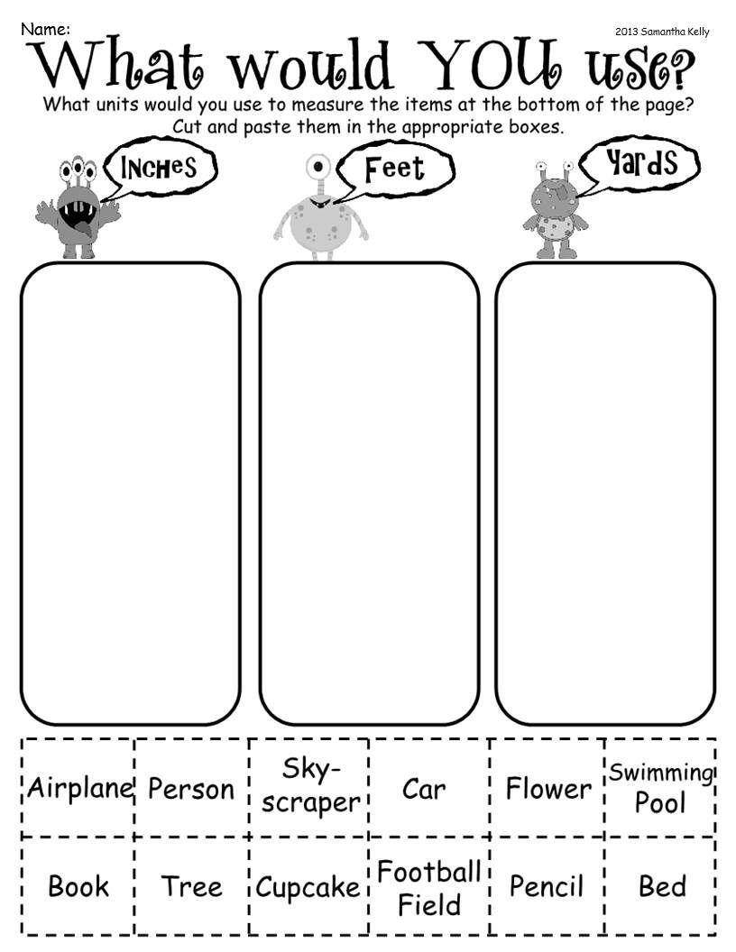 Measurement Worksheets for 2nd Grade tons Of Measurement Fun Freeeeebies