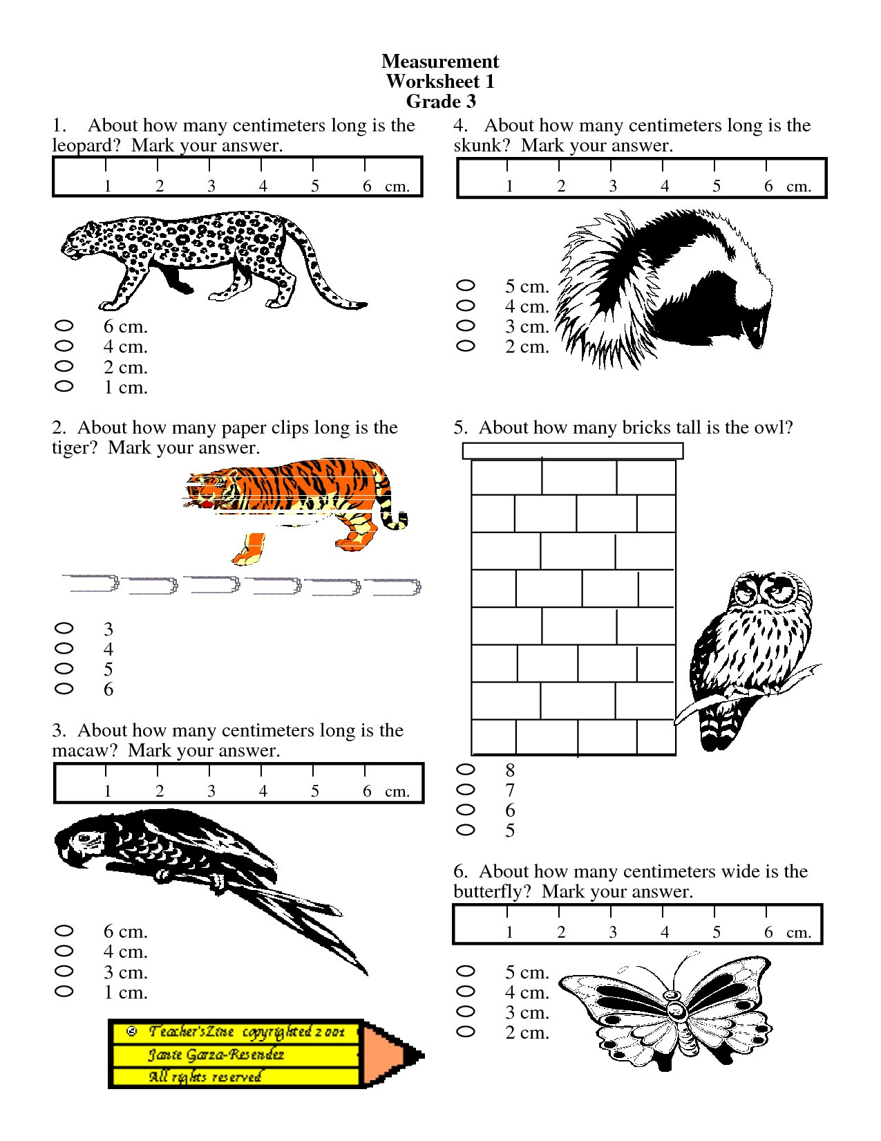 Measurement Worksheets for 3rd Grade Math Worksheet Tremendous Measurement Worksheets Grade 3