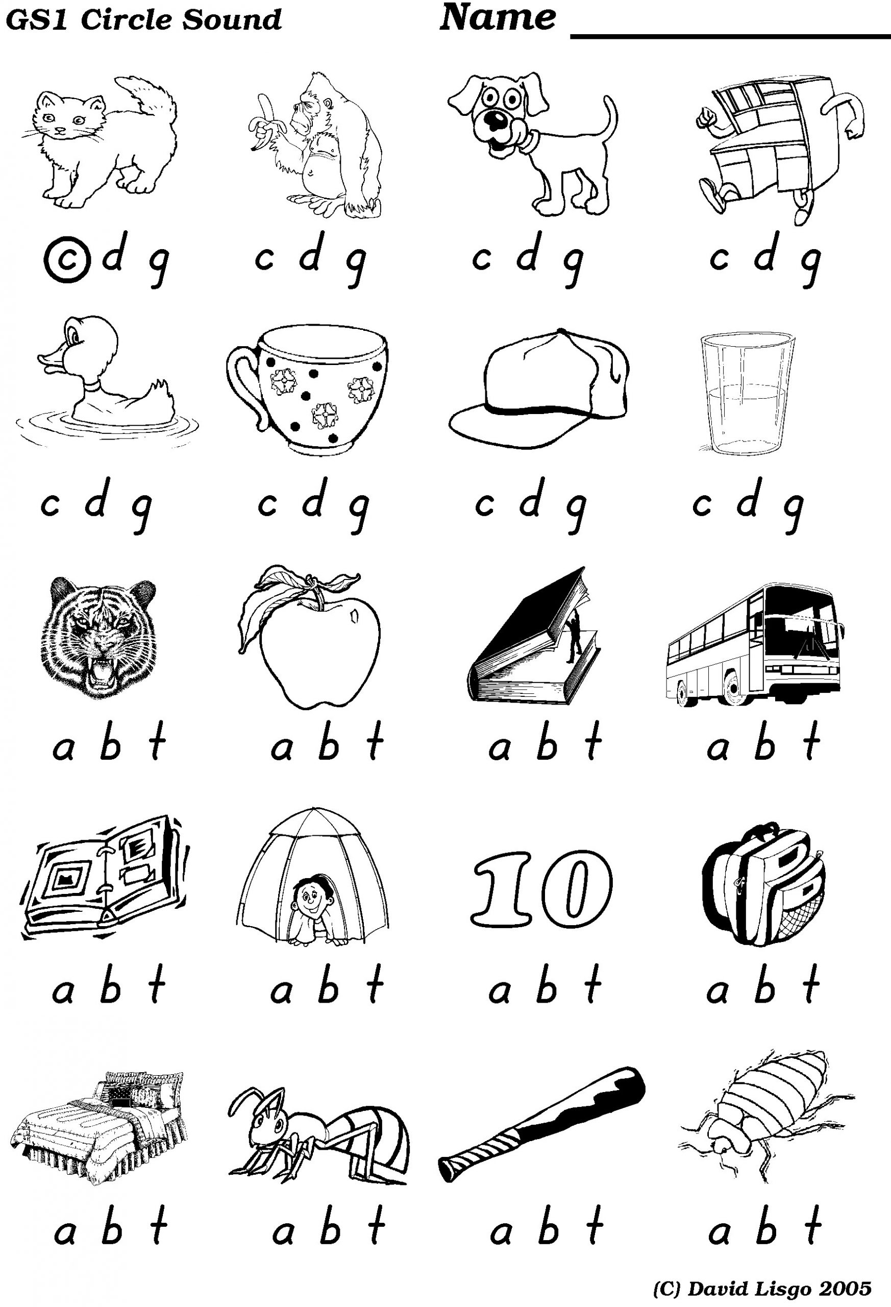 Medial sounds Worksheets First Grade Medial Vowel sound Worksheet Kindergarten