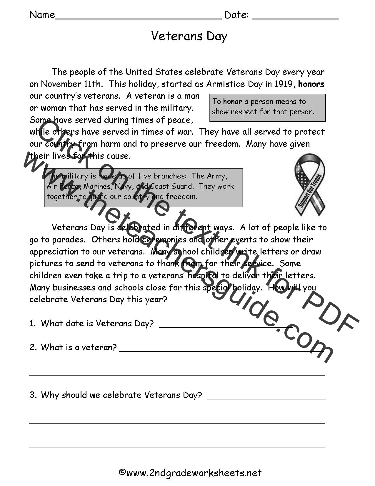 Memorial Day Worksheets First Grade Veterans Day Worksheets Printable that are Lively