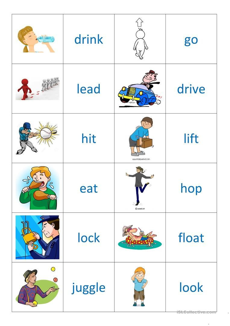 Memory Exercises for Adults Printable Verbs 2 Memory Worksheet Free Esl Printable Worksheets