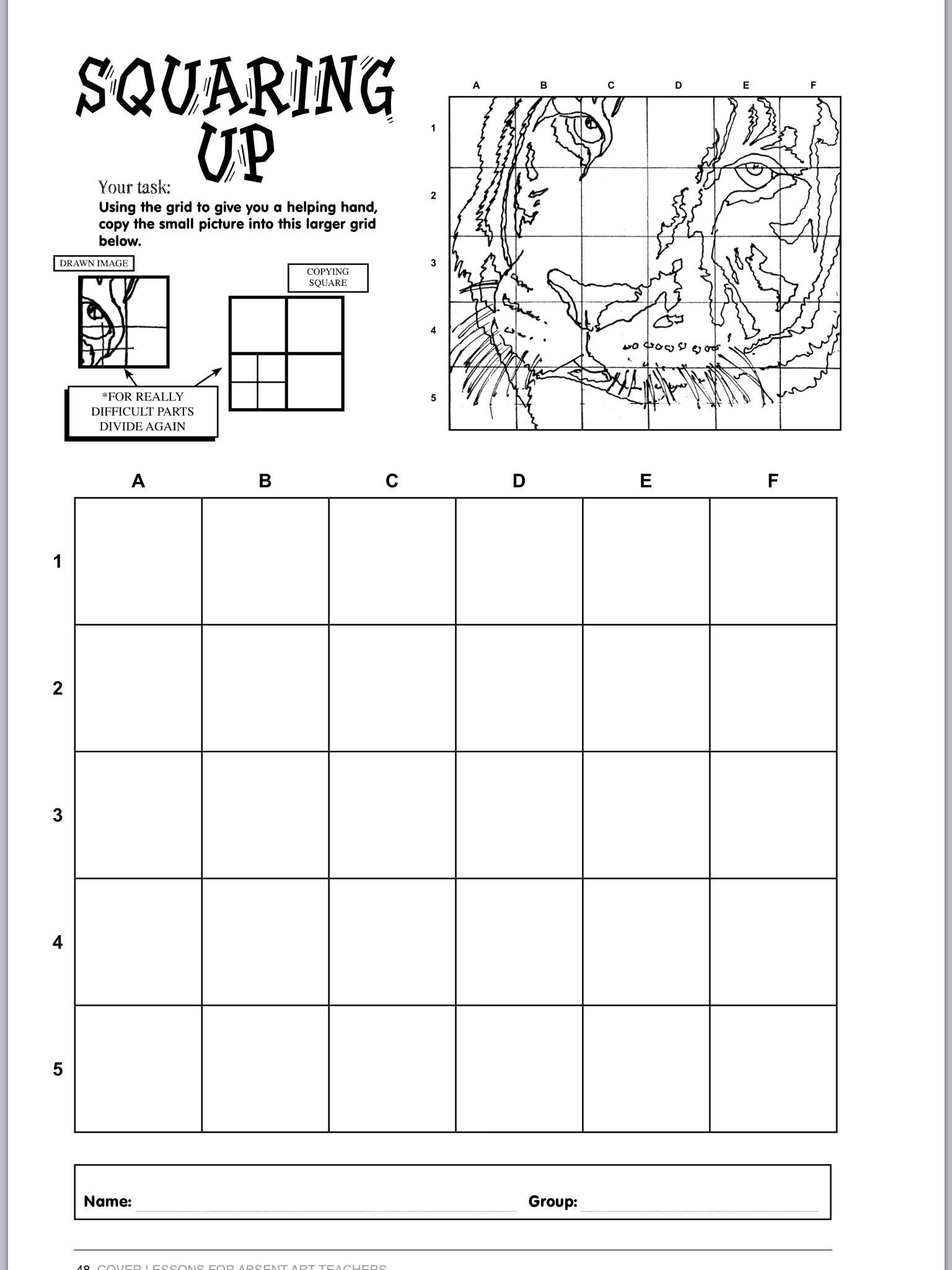 Middle School Art Worksheets Pin by Nicole Granese On Sub Plans