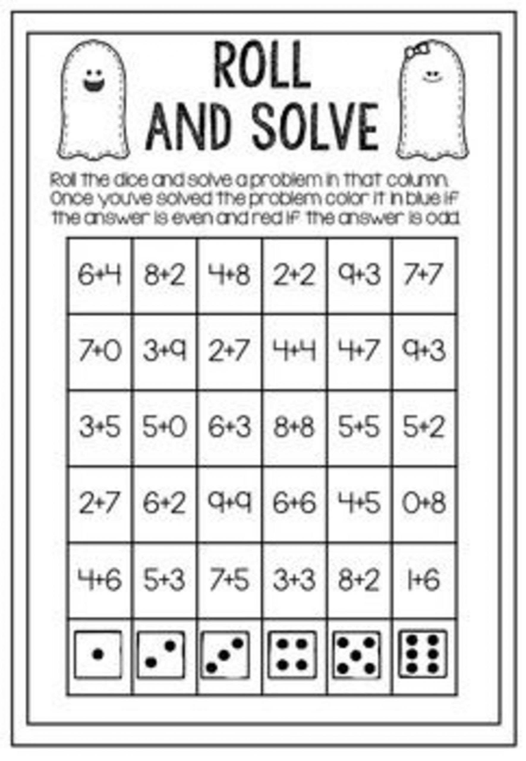 Missing Addend Worksheets 1st Grade 7 Missing Addend Worksheets In 2020