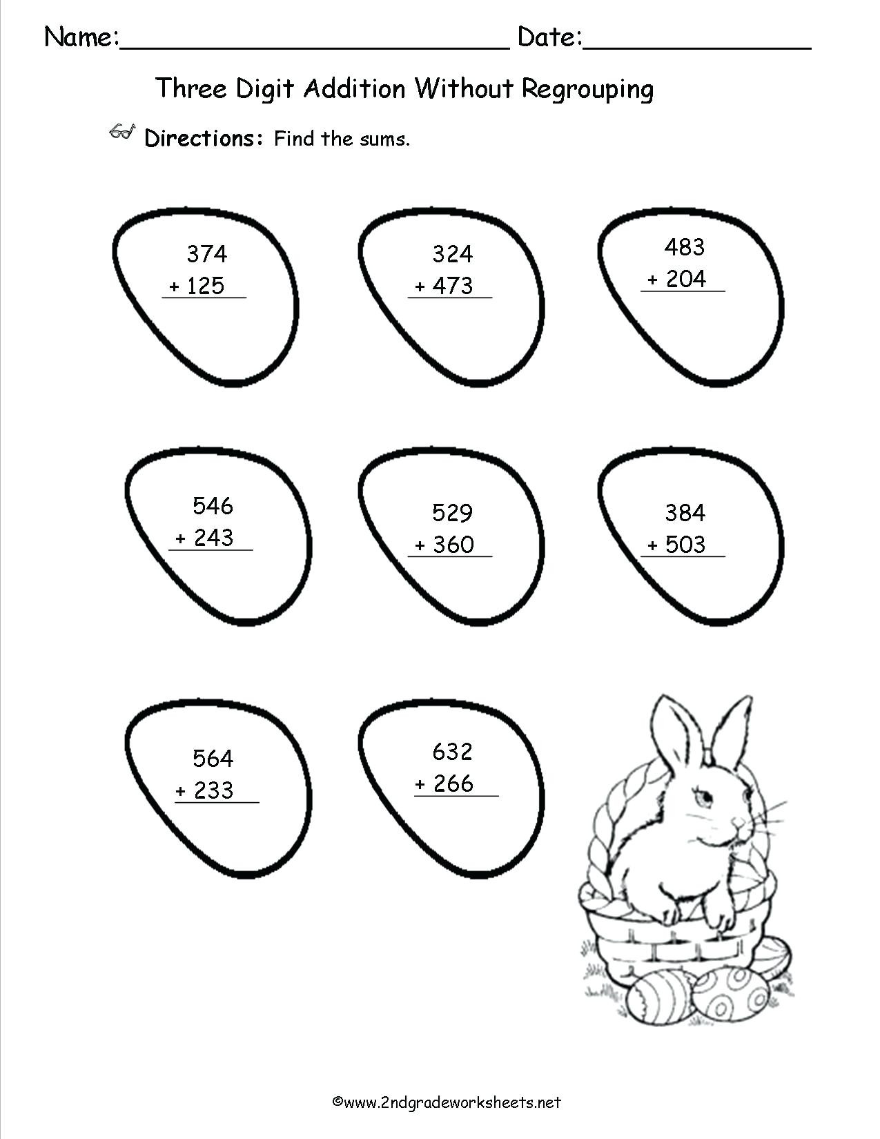 Missing Addend Worksheets 1st Grade Missing Addend Worksheets to Download Missing Addend