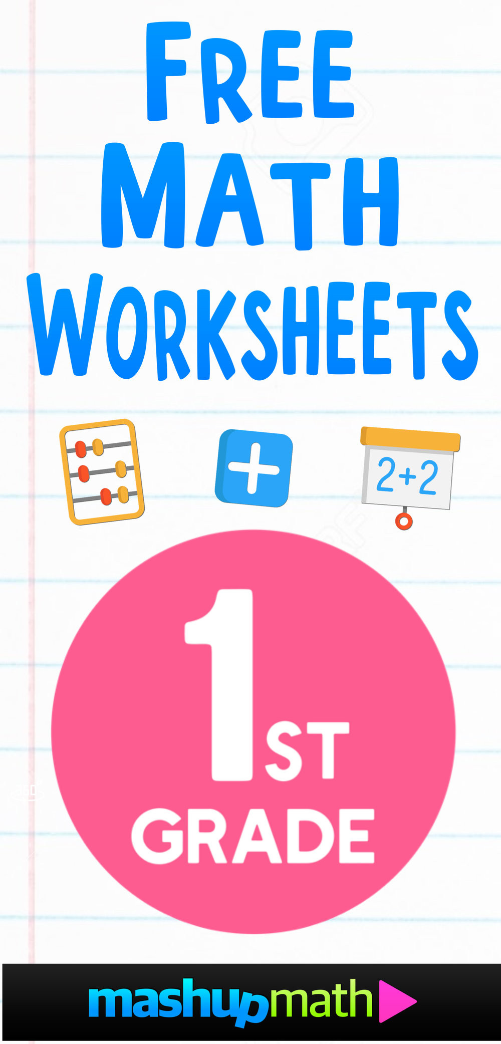 Missing Addends Worksheets First Grade Free 1st Grade Math Worksheets — Mashup Math