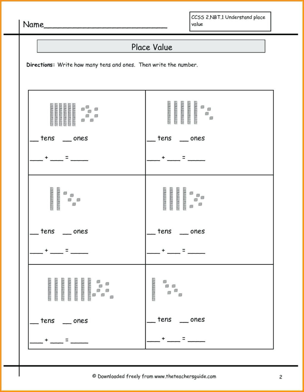 Missing Number Worksheets 2nd Grade Worksheet Free Math Worksheets Second Grade Subtraction
