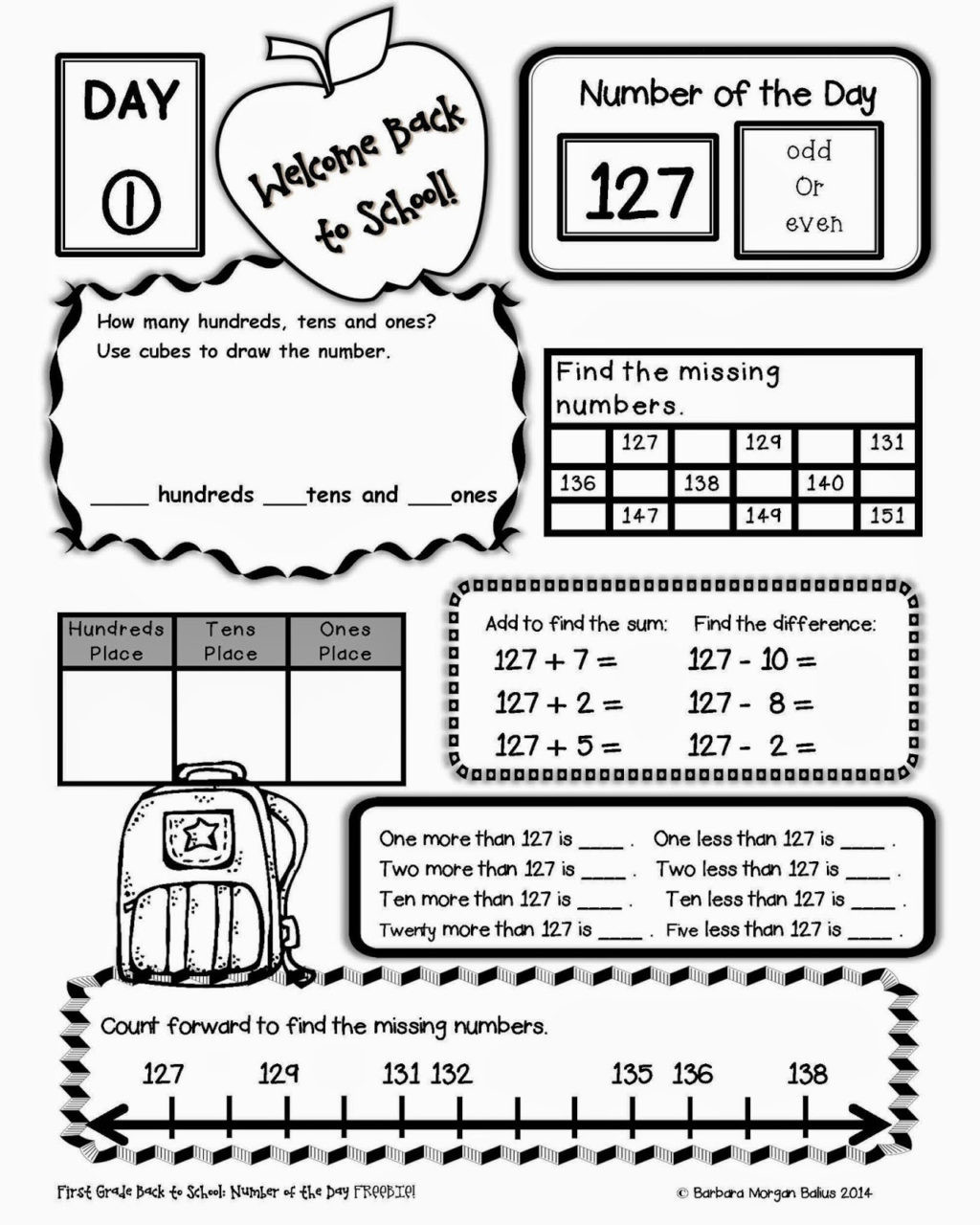 Missing Number Worksheets 2nd Grade Worksheet Worksheet Free Second Grade Worksheets Telling