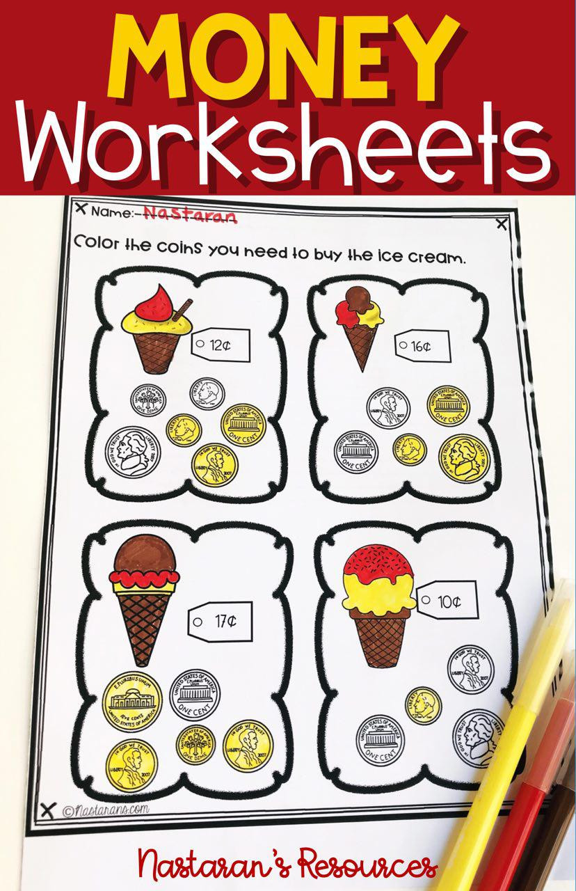 Money Worksheets 3rd Grade Money Worksheets Nastaran S Resources