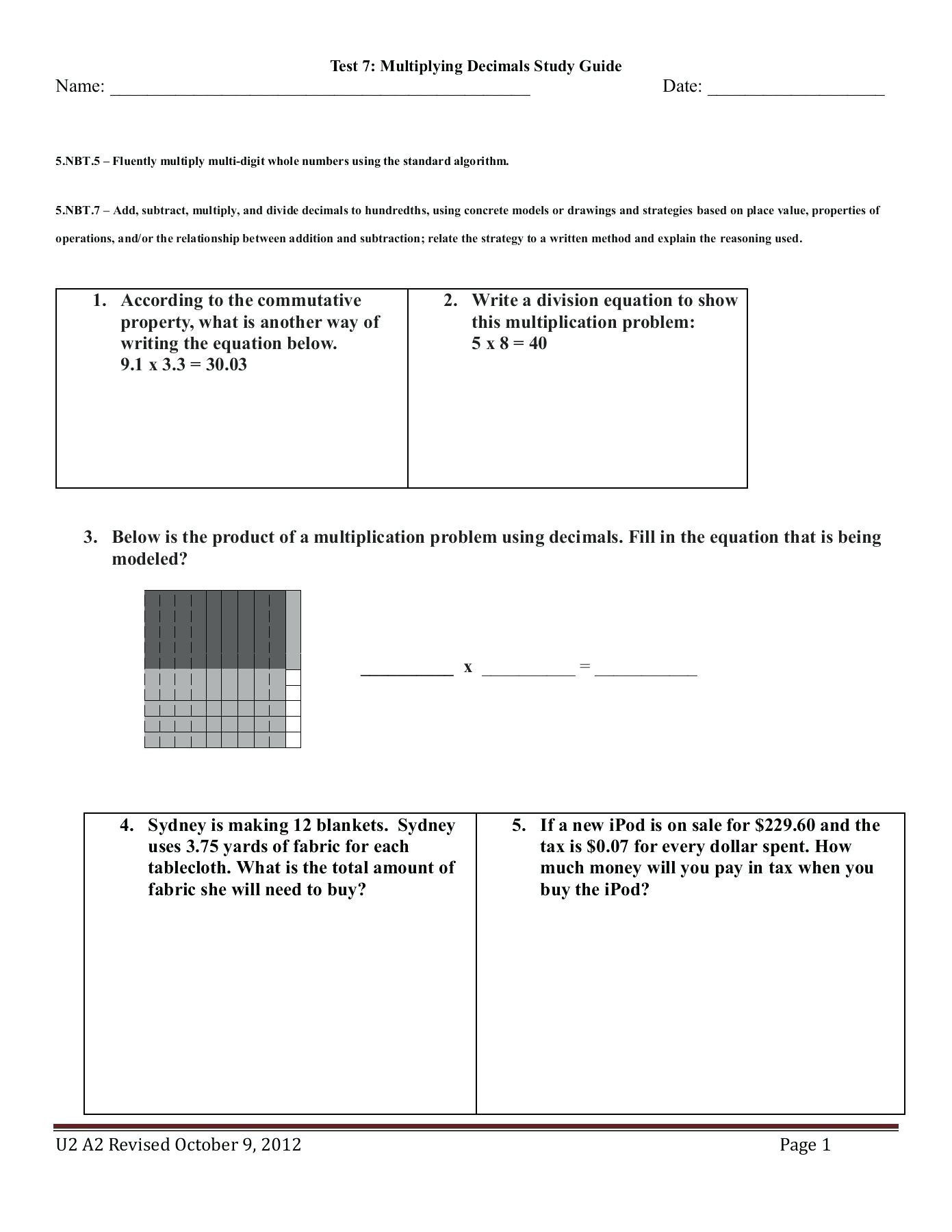 Multiplication Worksheets 0 12 Printable Math Worksheet Math Worksheet Worksheets Grade