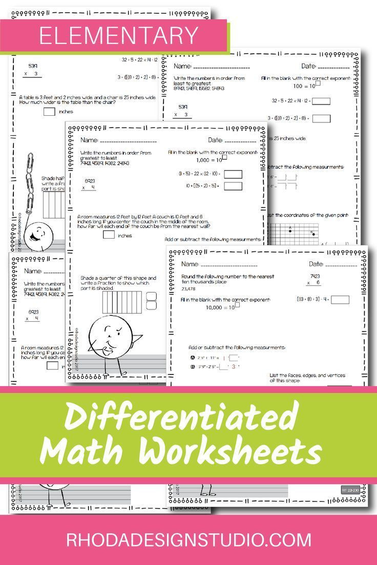 Nwea Math Practice Worksheets Nwea Map Prep Math Practice Worksheets Rit Band 180 220