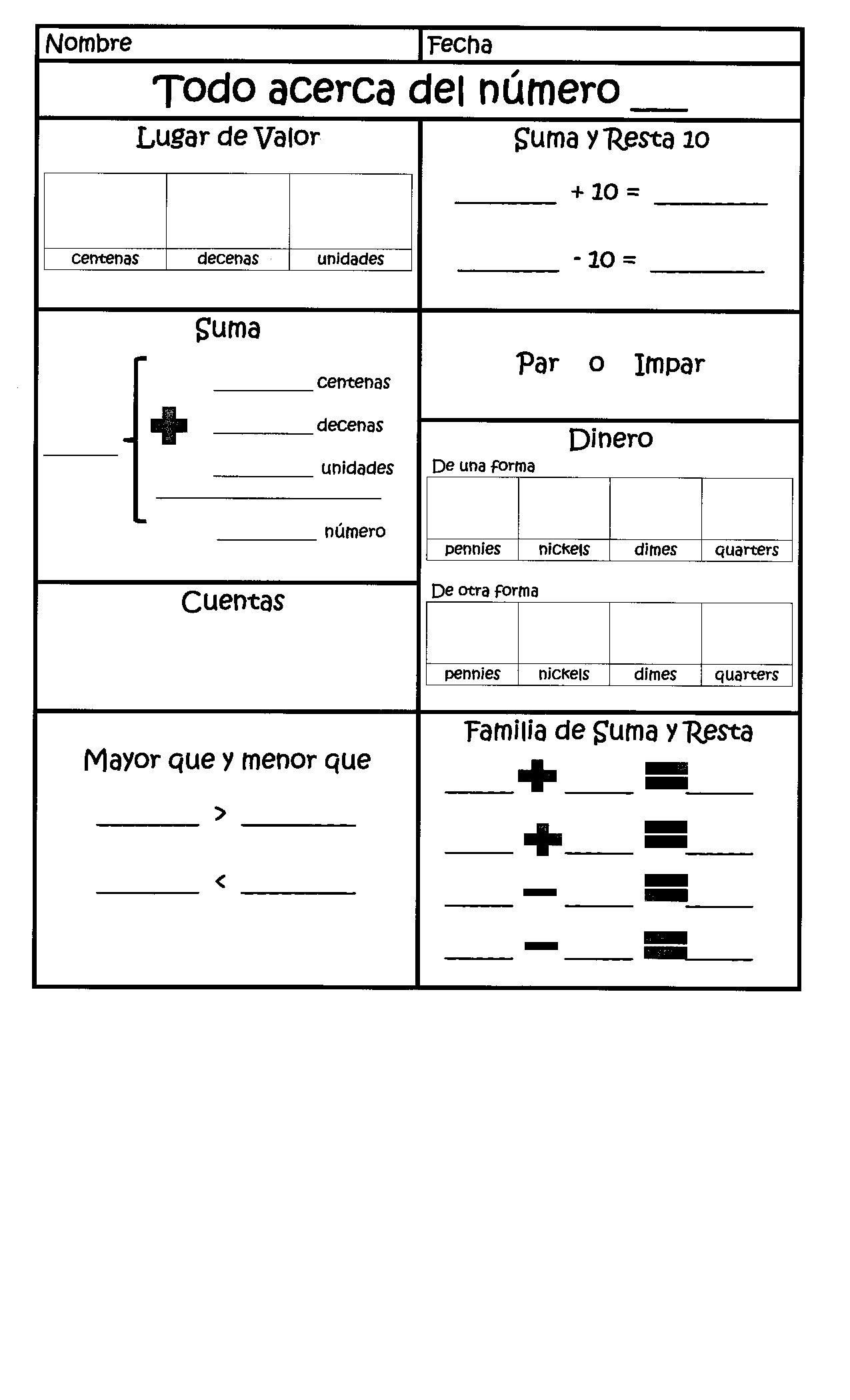 Ordering Decimals Worksheet 5th Grade Daily Calendar Math In Spanish for 1st Grade Dual Language