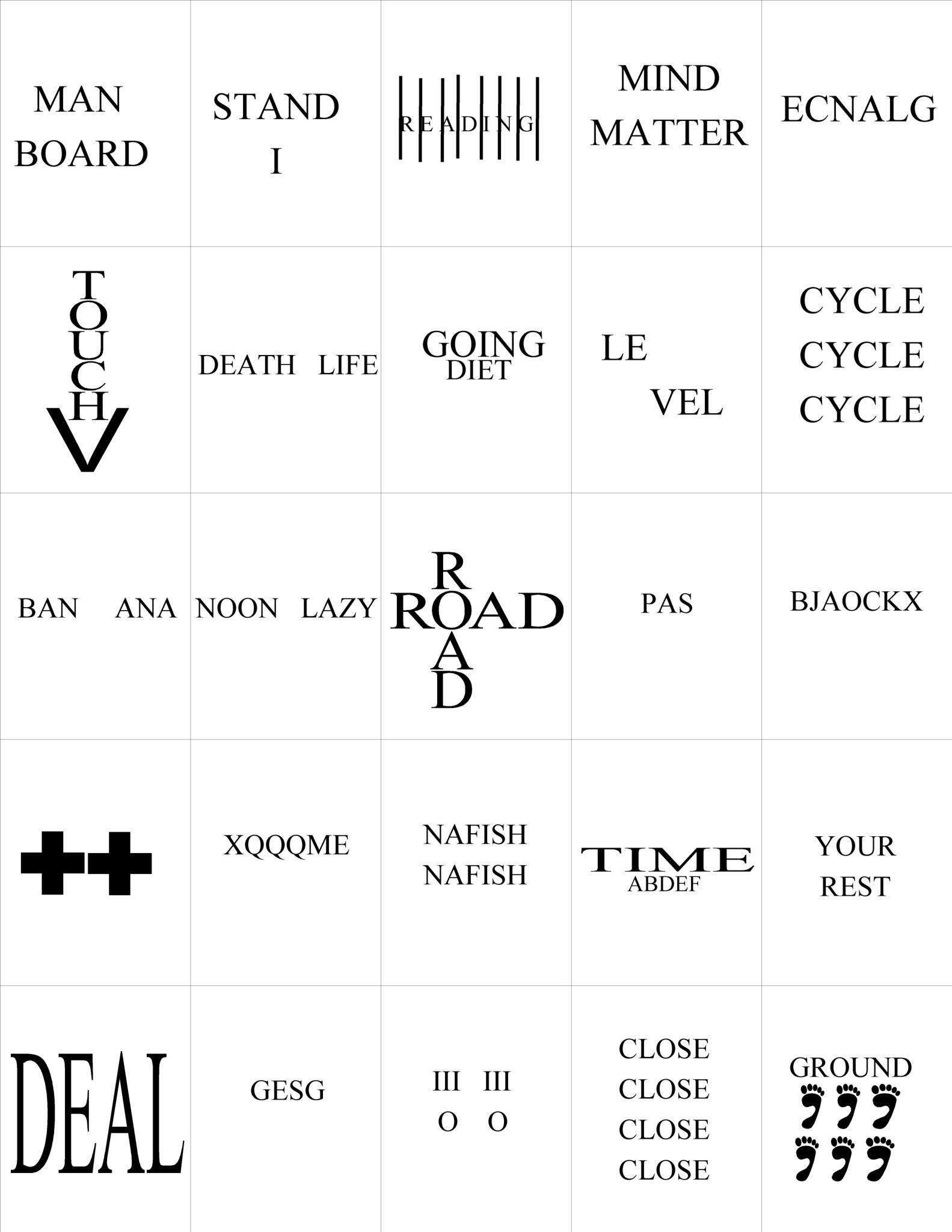 Pictogram Puzzles Printable top Ten Floo Y Wong Artist — Rebus Puzzles with Answers