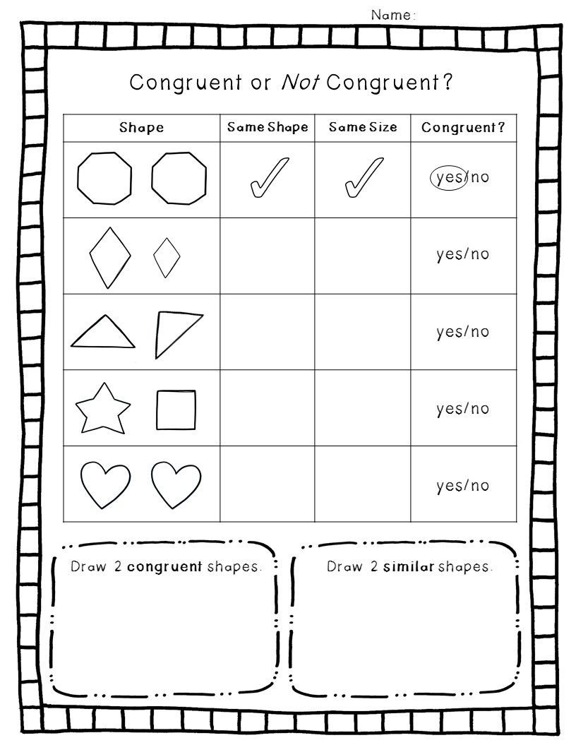 Polygon Worksheets 3rd Grade 2 D Geometry Pack