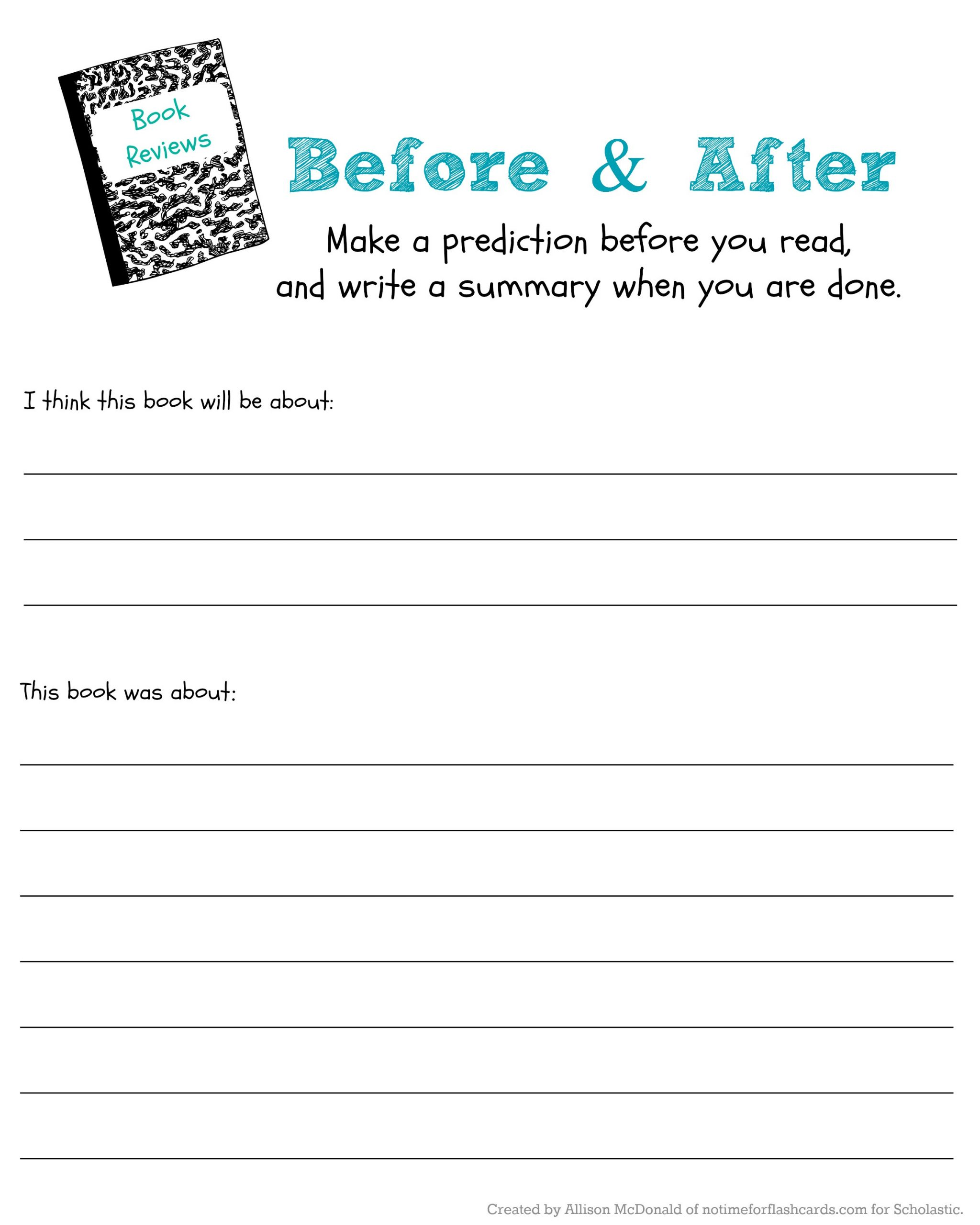 Predictions Worksheets 1st Grade Judge A Book by Its Cover to Predict & Read