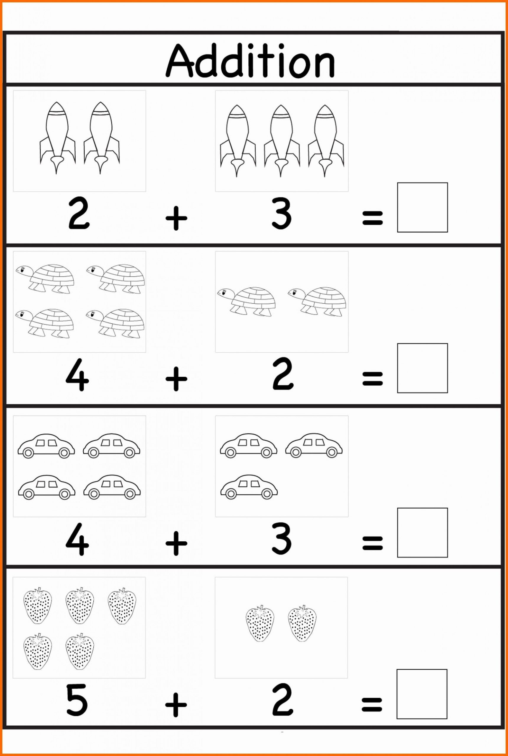 Preschool Addition Worksheets Printable 010 Free Printable Preschool Maths Worksheets them and Try