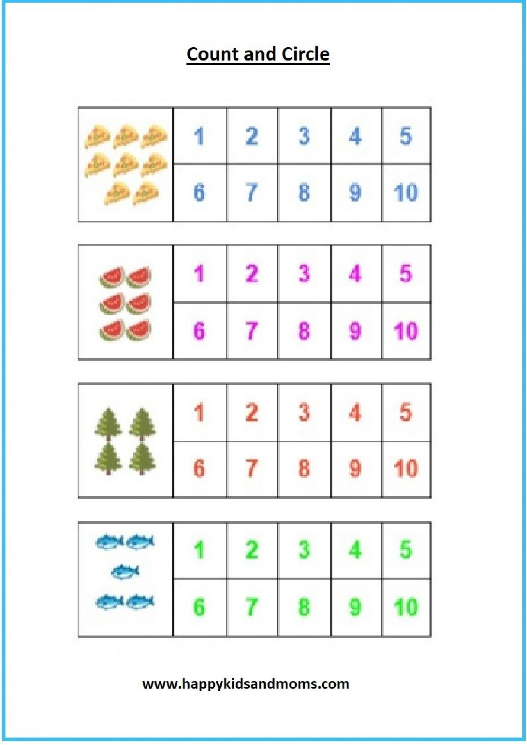 Preschool Addition Worksheets Printable Free Kindergarten Math Worksheets Misc Free
