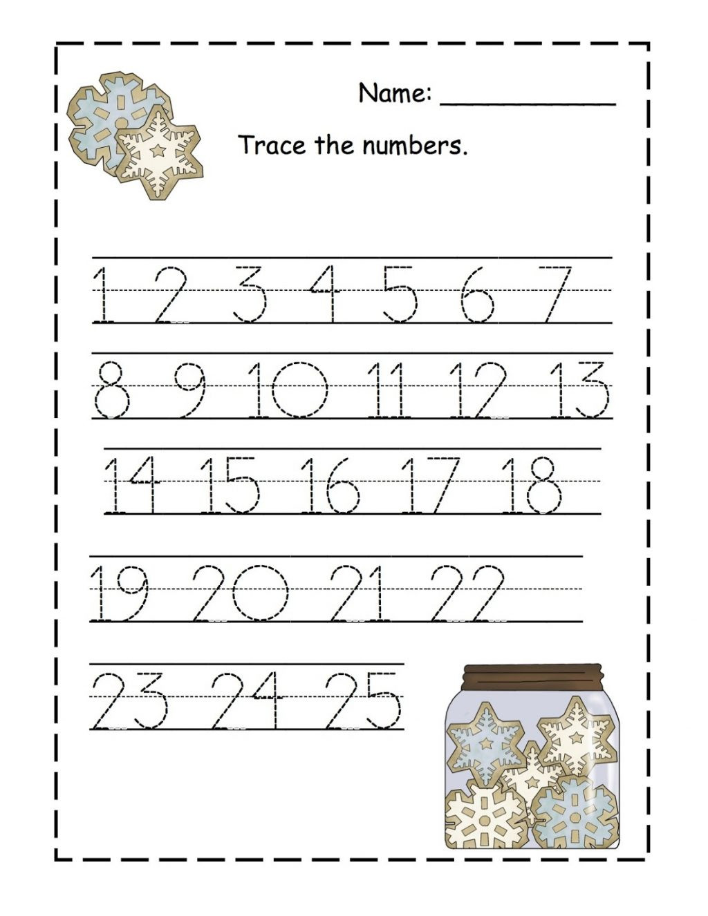 Preschool Number Tracing Worksheet Worksheet Preschool Printing Worksheets Fabulous