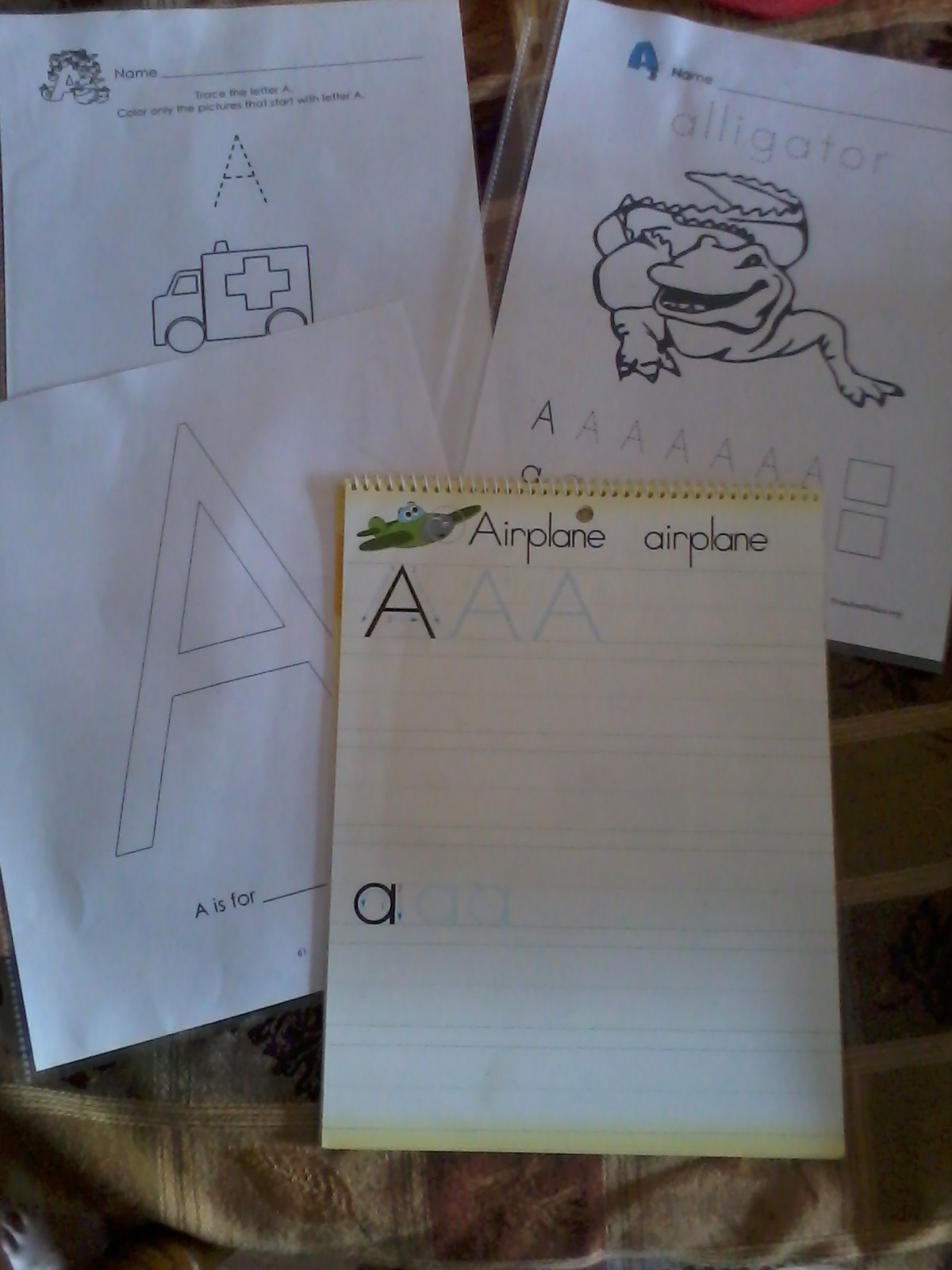 Preschool Palace Curriculum Preschool and More A is for Apple and All About Me