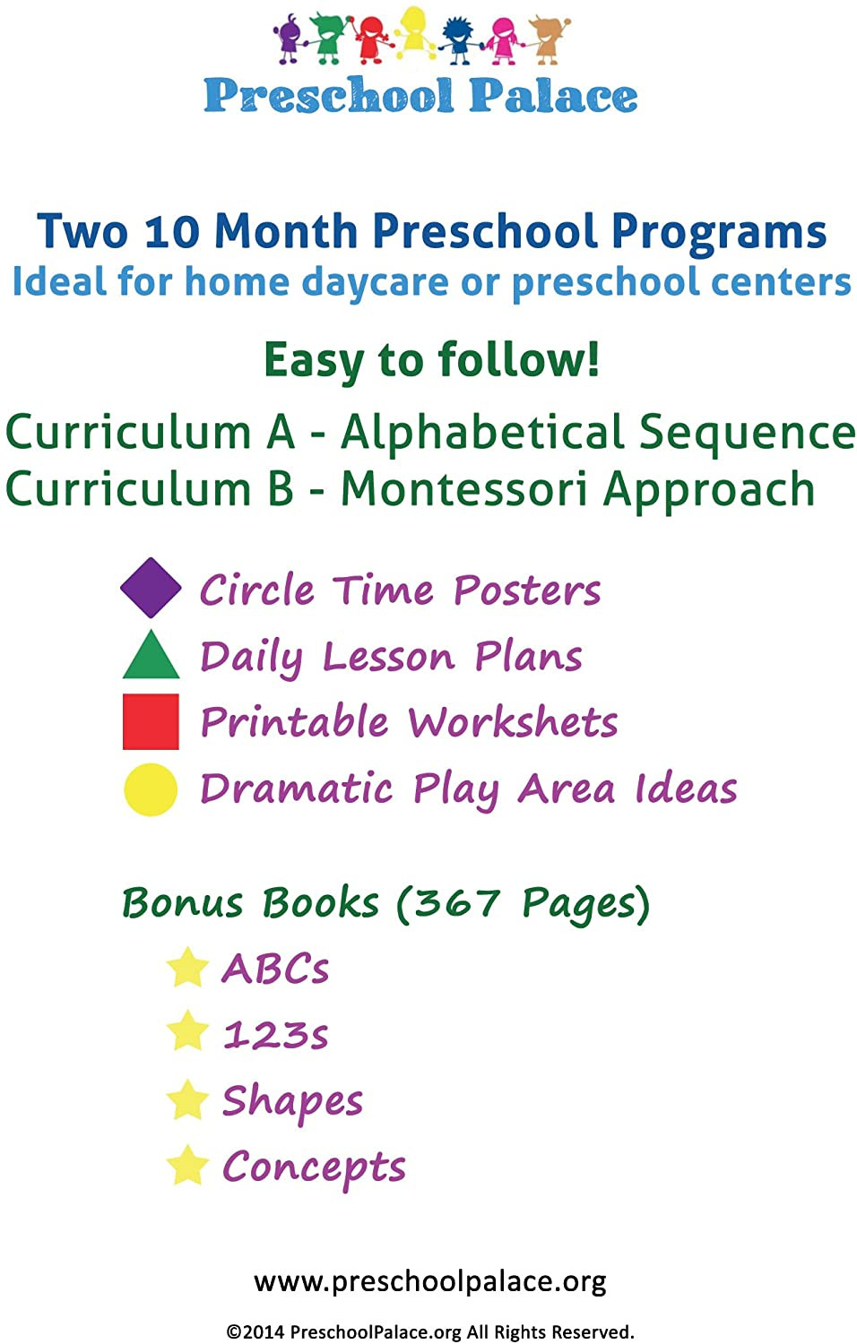 Preschool Palace Curriculum the Ultimate Preschool Curriculum Kit On Cd Printable Workbooks Lesson Plans and Learning Activities for Preschoolers Pre K Kids and toddlers