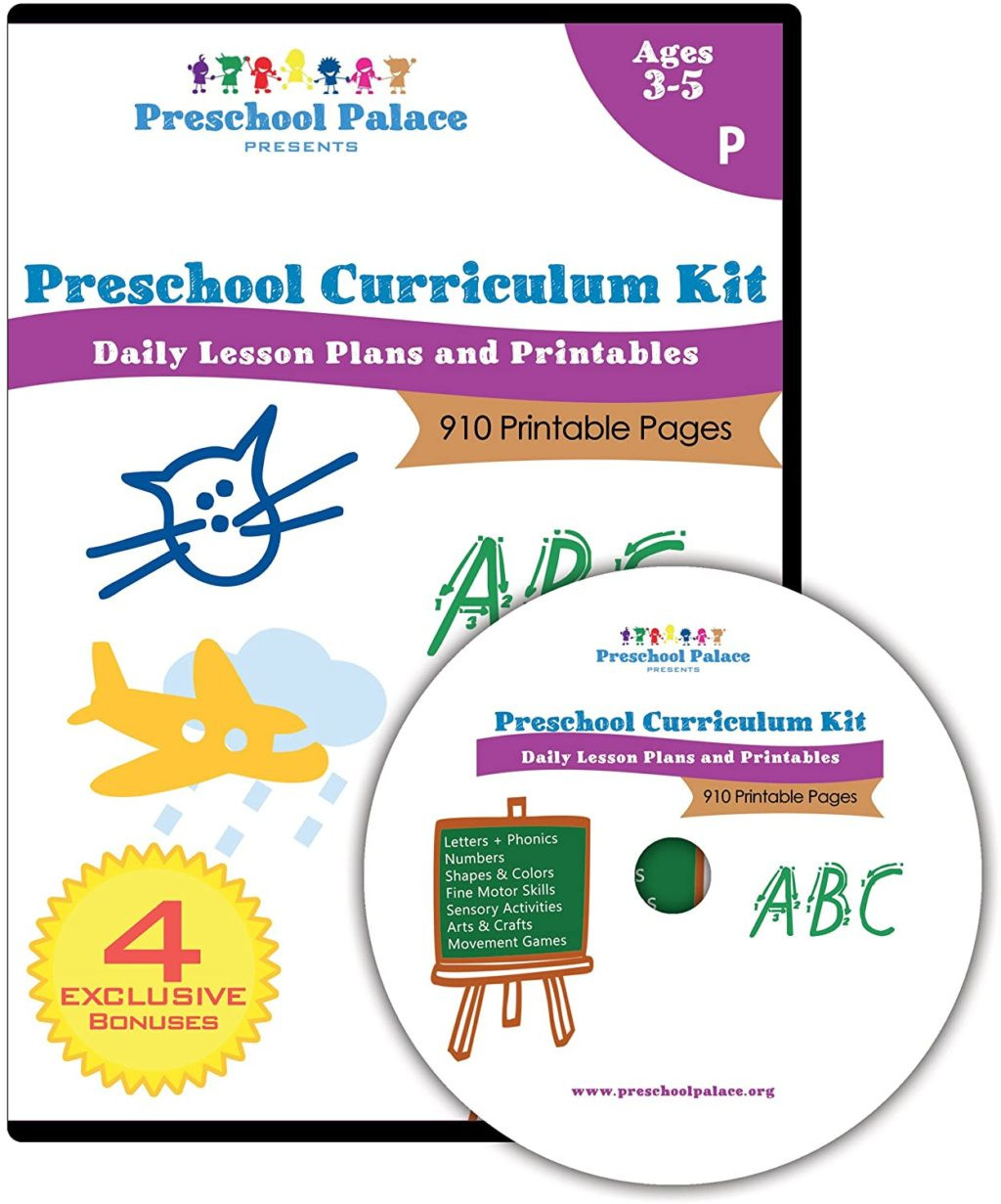 Preschool Palace Curriculum Worksheet Printing Activities forrten Image Ideas