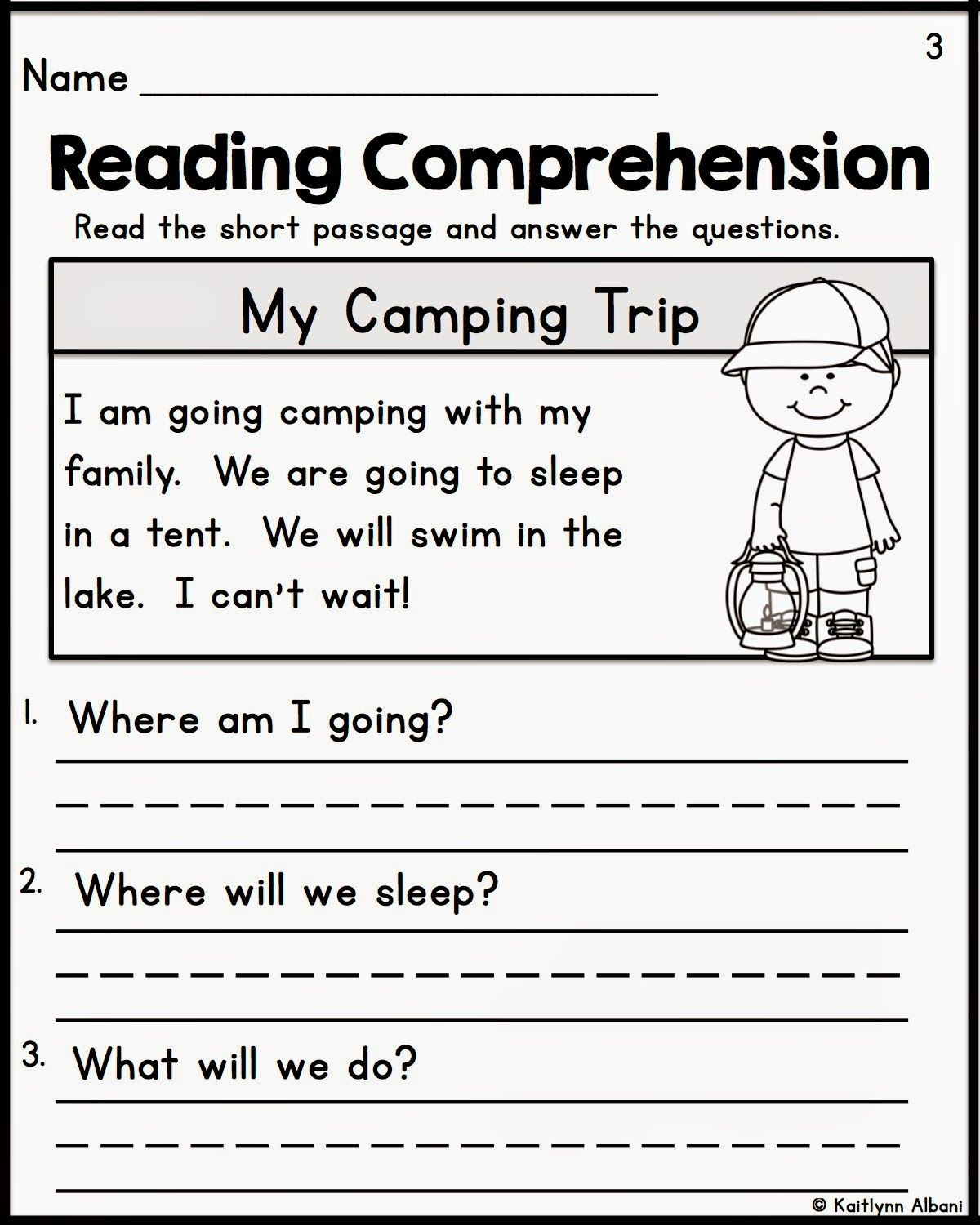 Preschool Reading Comprehension Worksheets Worksheet Fill In the Missing Number Kindergarten Kg